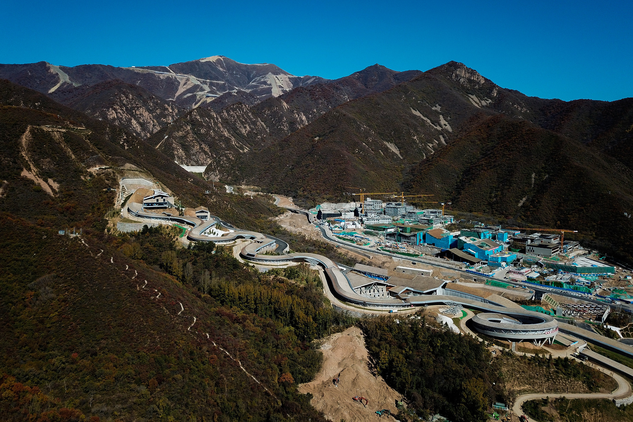 Yanqing utility tunnel built for Beijing 2022 Winter Olympics passes safety inspection