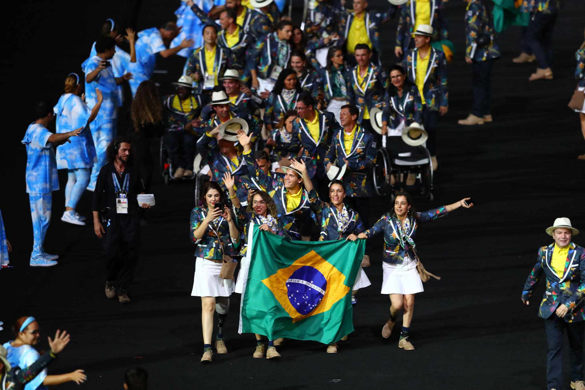 Only Brazil's Rio 2016 delegation is bigger than the team the Brazilian Paralympic Committee is sending to Tokyo 2020 ©Getty Images