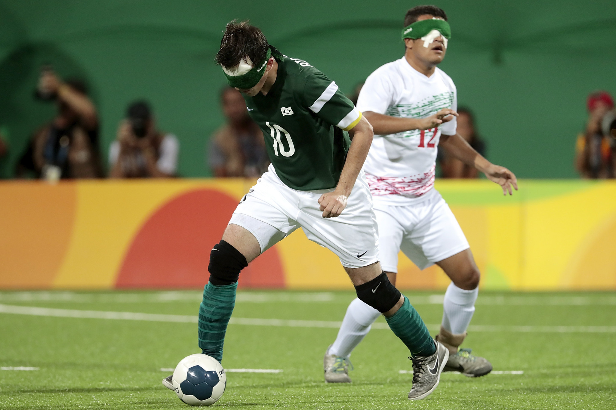Brazil will be aiming to retain their Paralympic blind football title ©Getty Images