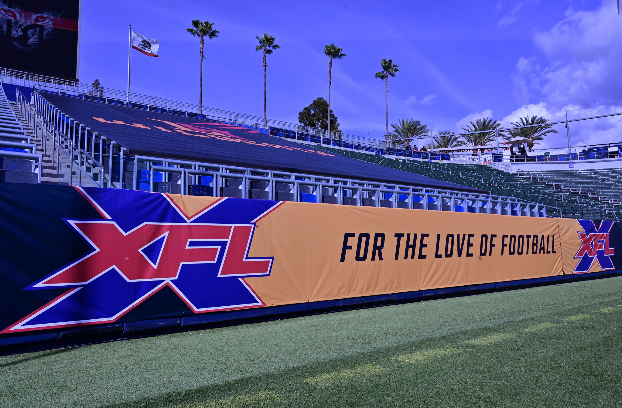 David Michael previously worked in the XFL ©Getty Images
