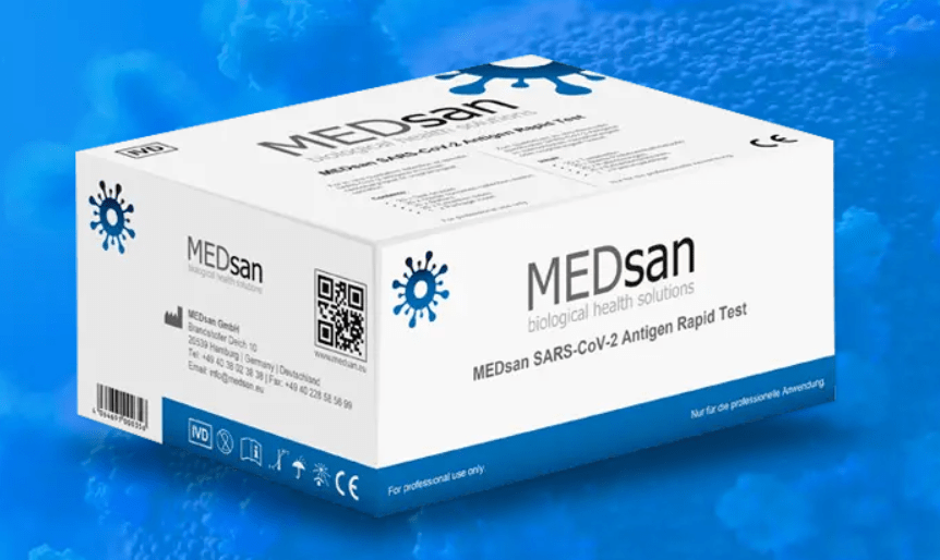 MEDsan UK has been appointed to carry out COVID-19 testing during the World Championships due to start in Chicago next week ©MEDsan UK