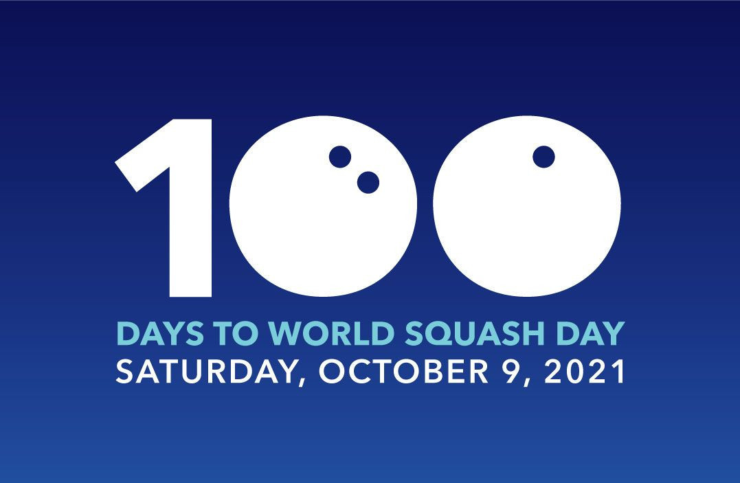 World Squash Day more important than ever, claims founder with 100 days to go