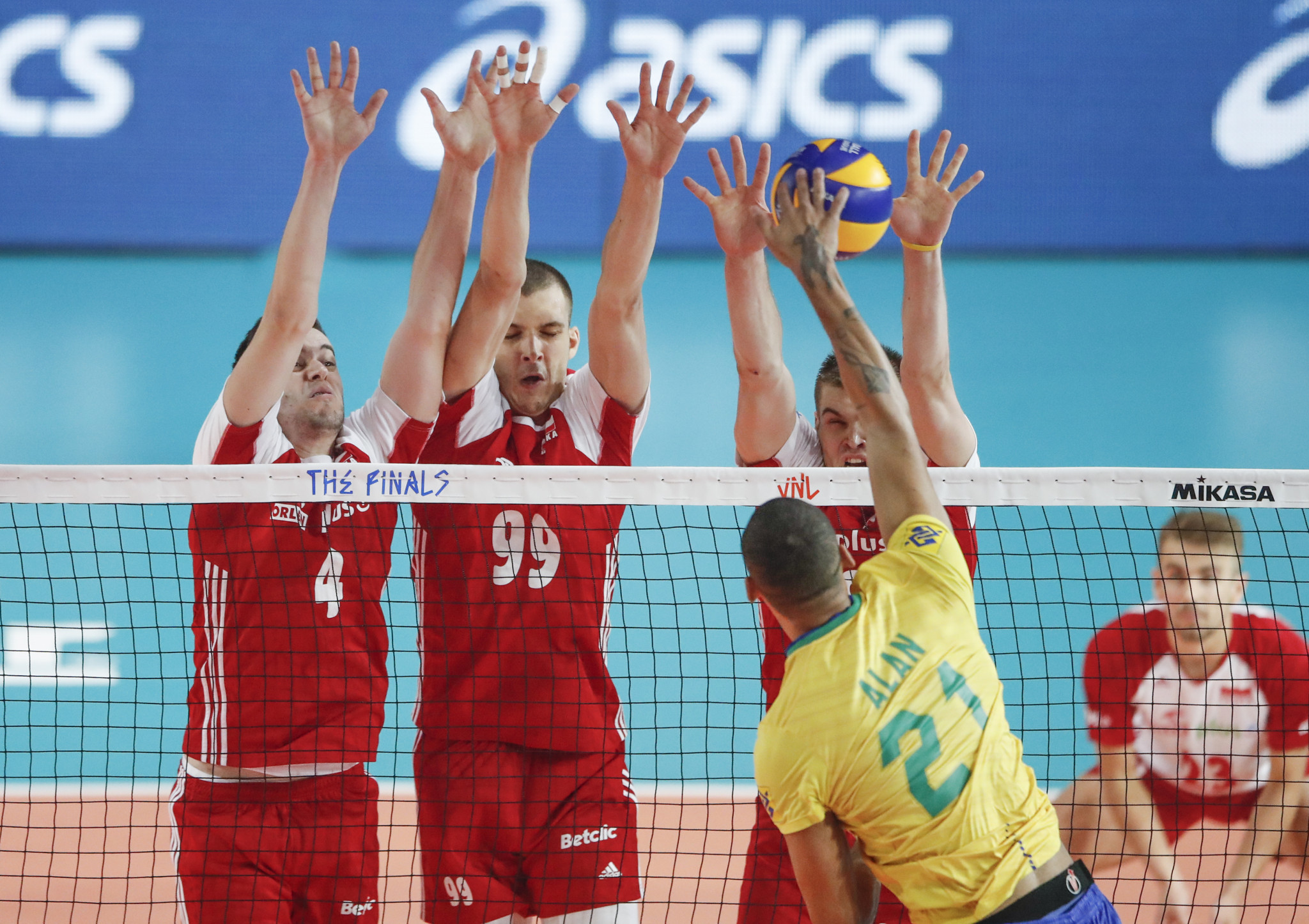 """FIVB hail Volleyball Nations League COVID-19 protocols """"successful"""" after one positive test"""