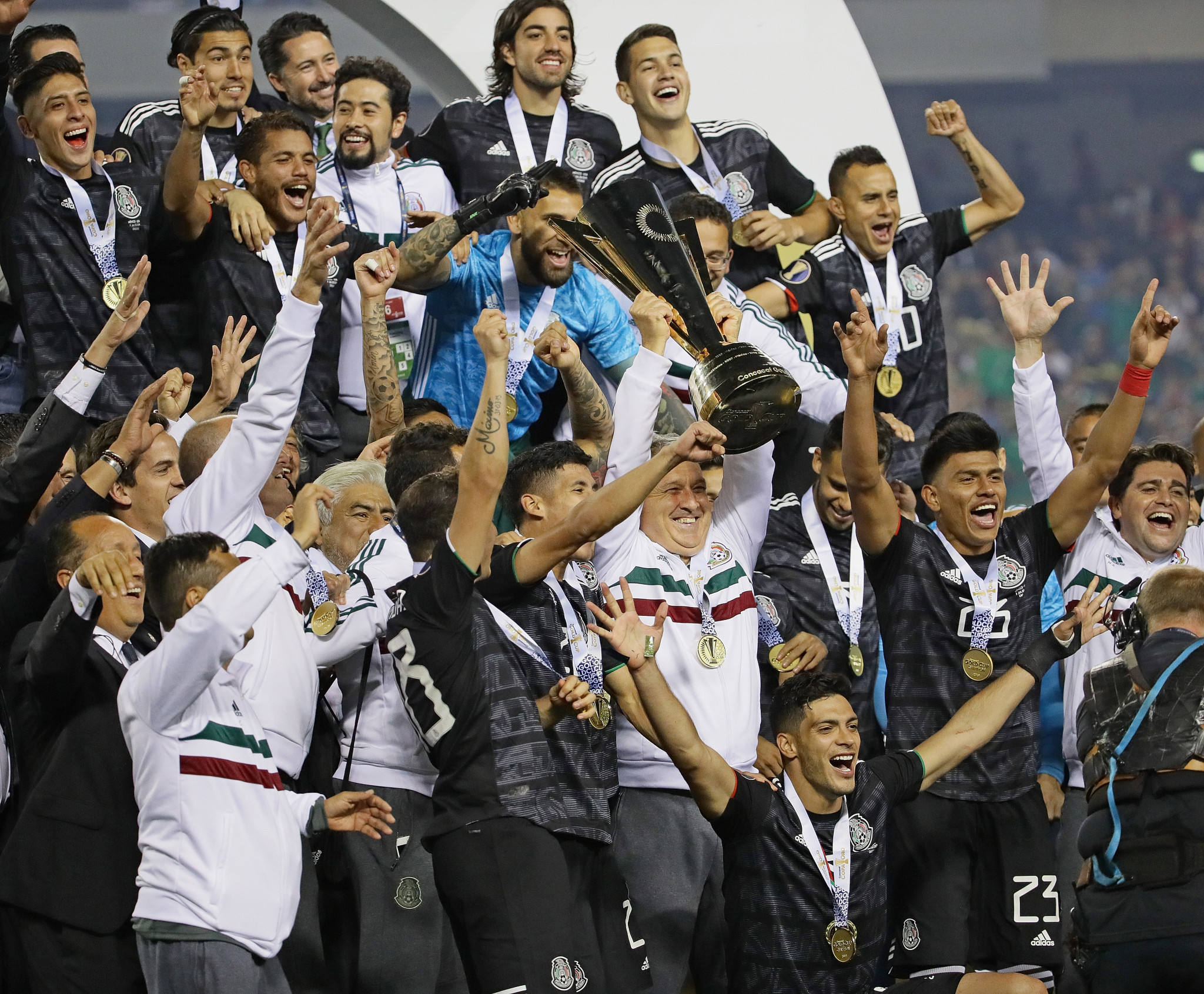 Mexico is the defending Gold Cup champions from 2019 ©Getty Images