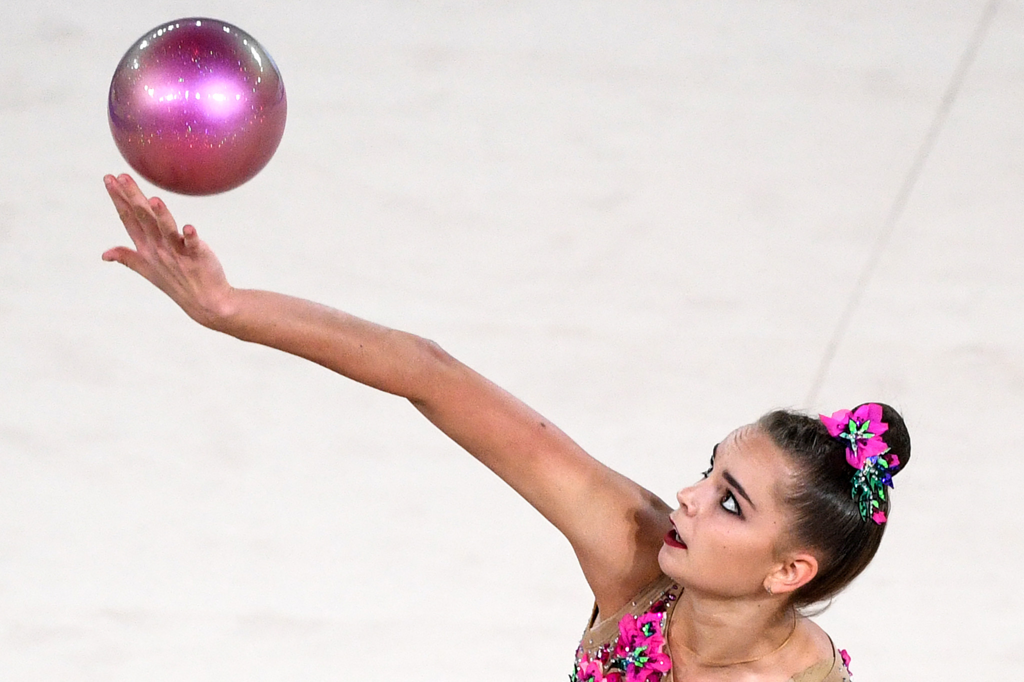 Dina Averina won the gold medal in the individual all-around in Moscow ©Getty Images