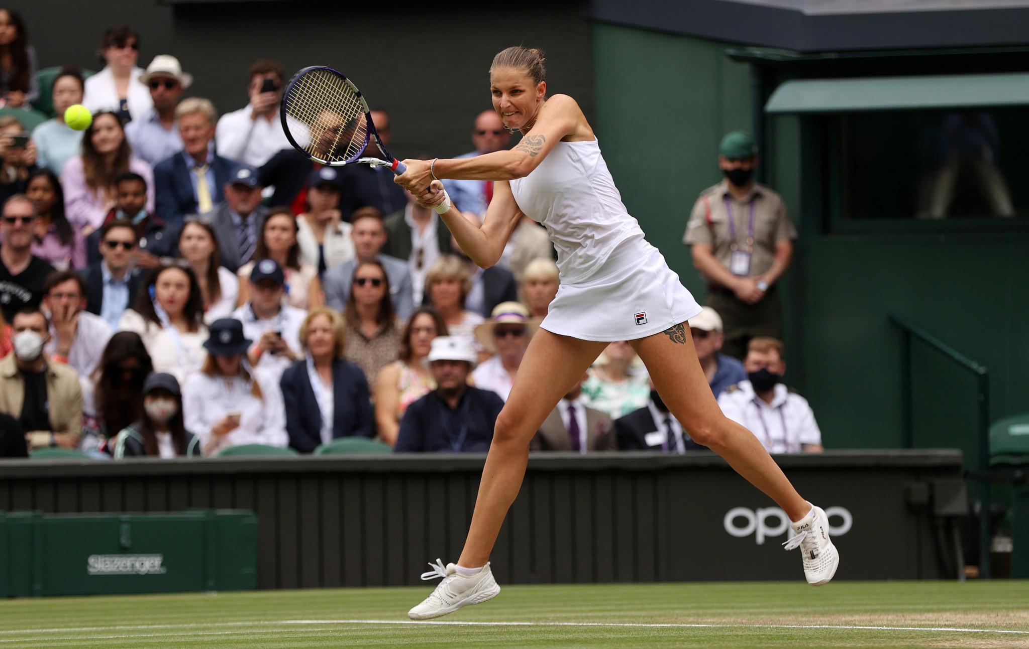 Karolina Plíšková forced the match into a decider after winning the second set tiebreak ©Getty Images