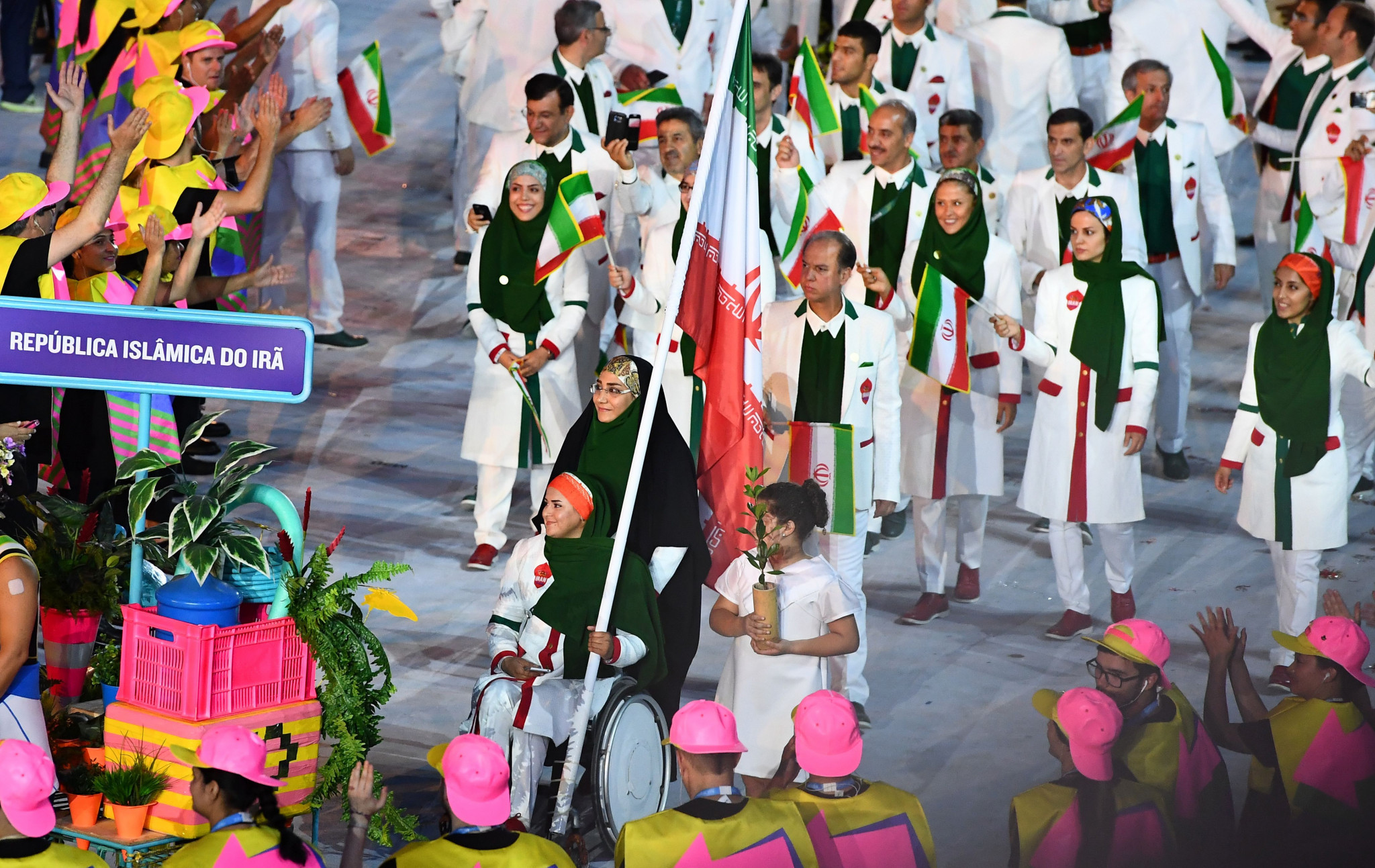 Iran won eight medals at the Rio 2016 Olympic Games ©Getty Images