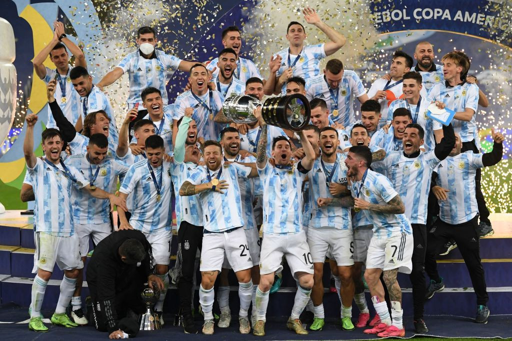 Argentina end wait for Copa América glory with victory over Brazil
