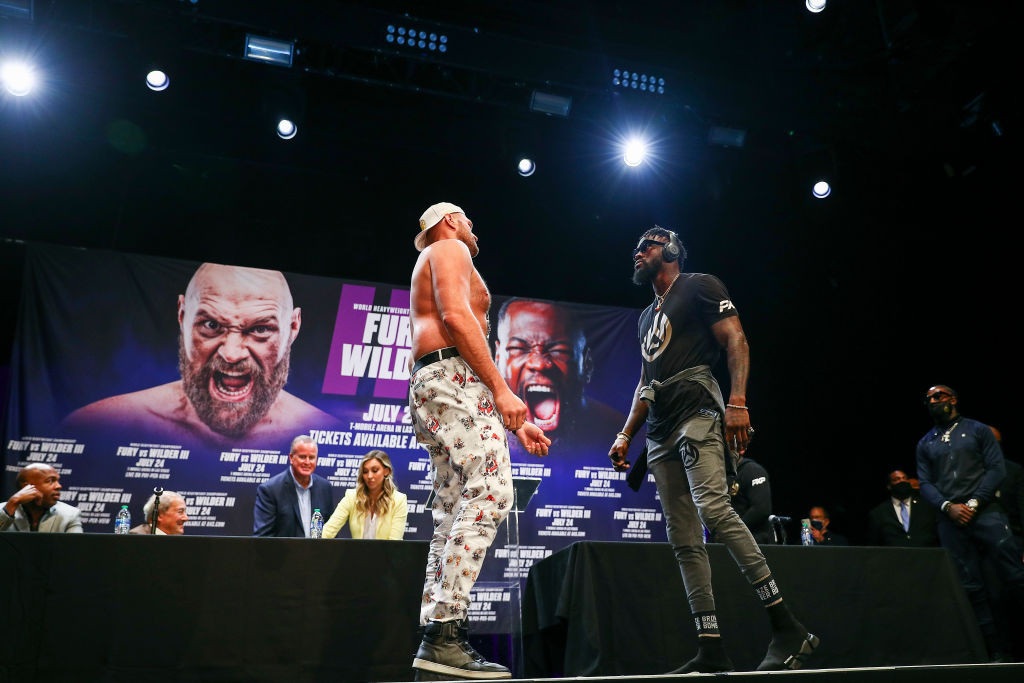 Fury and Wilder rematch postponed after Briton tests positive for COVID-19