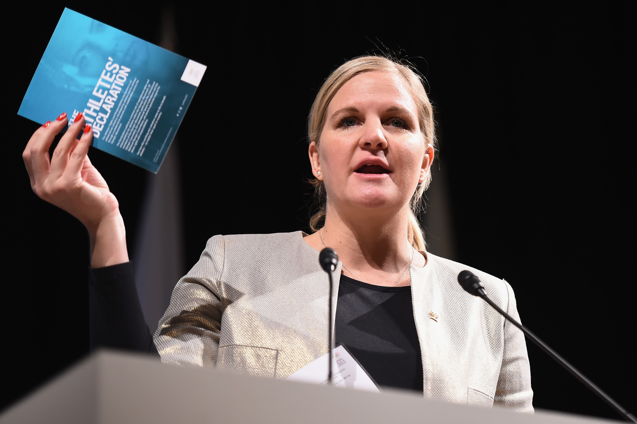As chair of the IOC Athletes' Commission, Kirsty Coventry has had to fend off plenty of criticism ©Getty Images