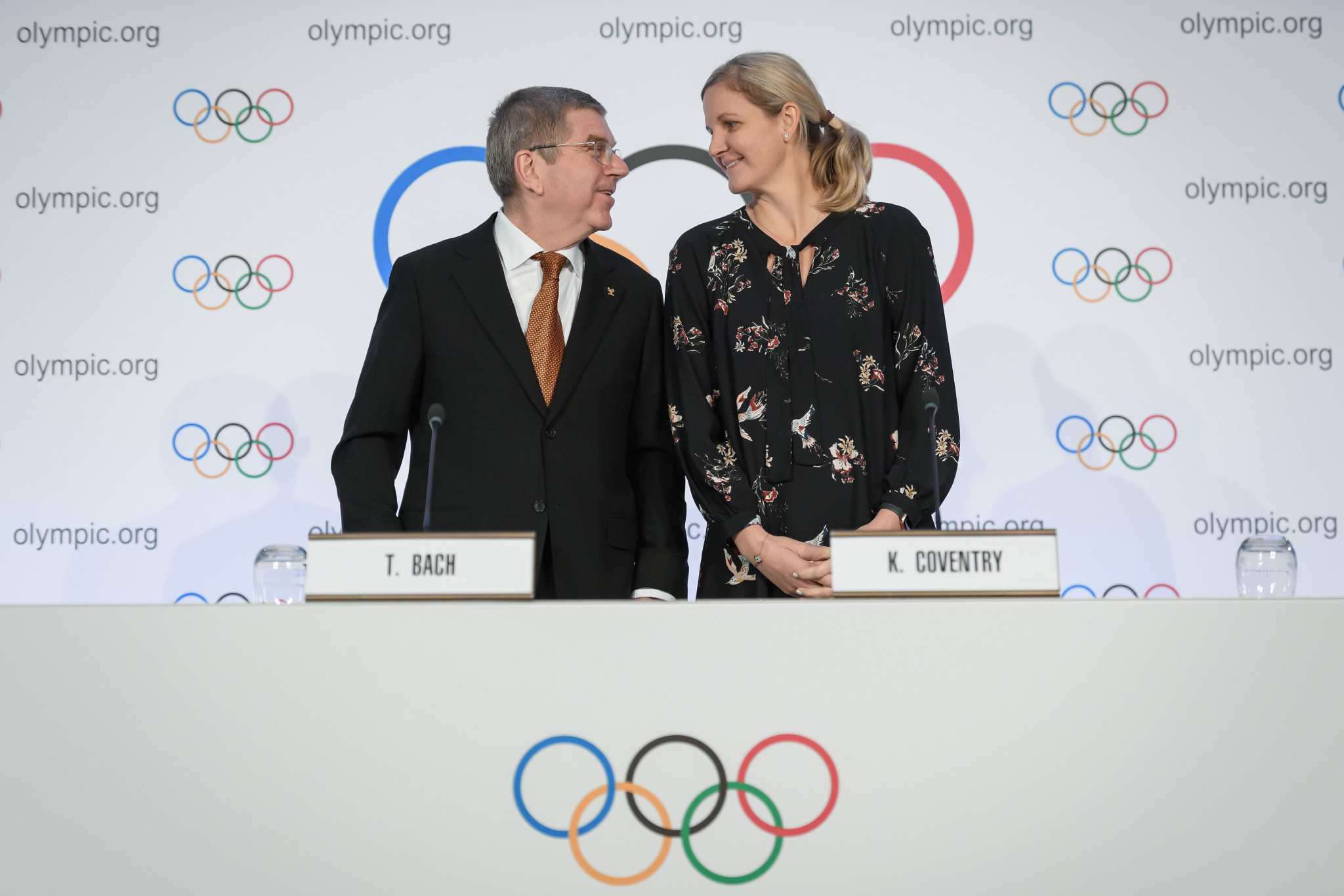 Kirsty Coventry's IOC Athletes' Commission has been accused of being too close to to President Thomas Bach, and simply an extension of the Executive Board ©Getty Images