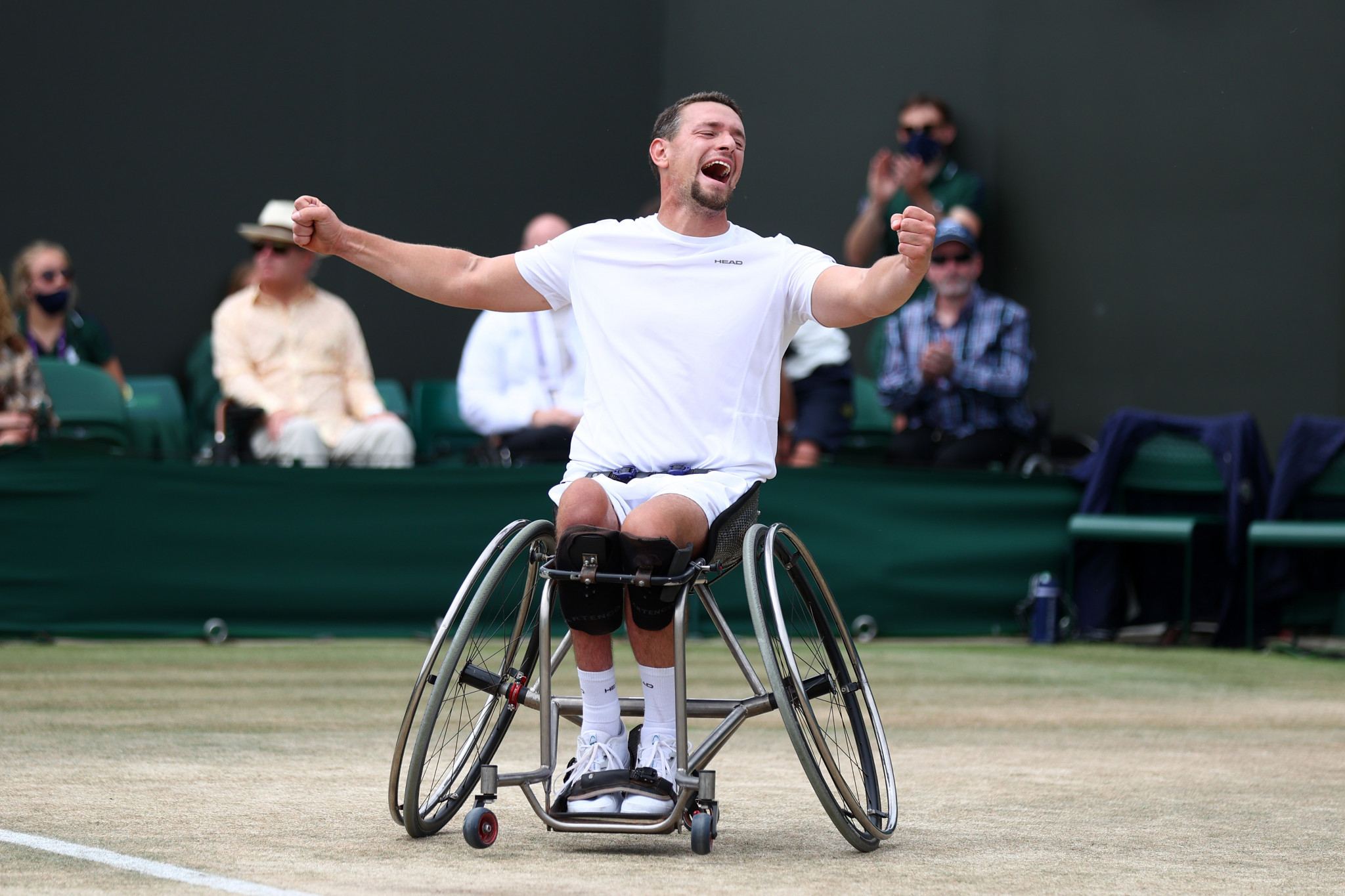 Gerard and De Groot win wheelchair singles titles as Wimbledon comes to a close