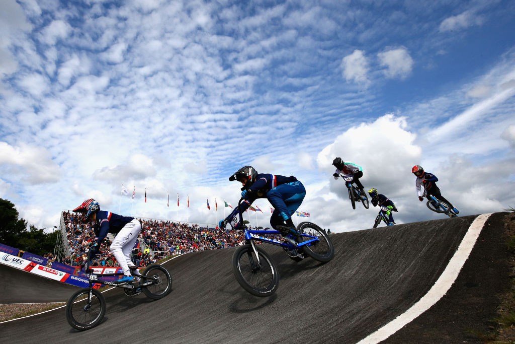 France wins both debut time trial events at European BMX Championships in Belgium