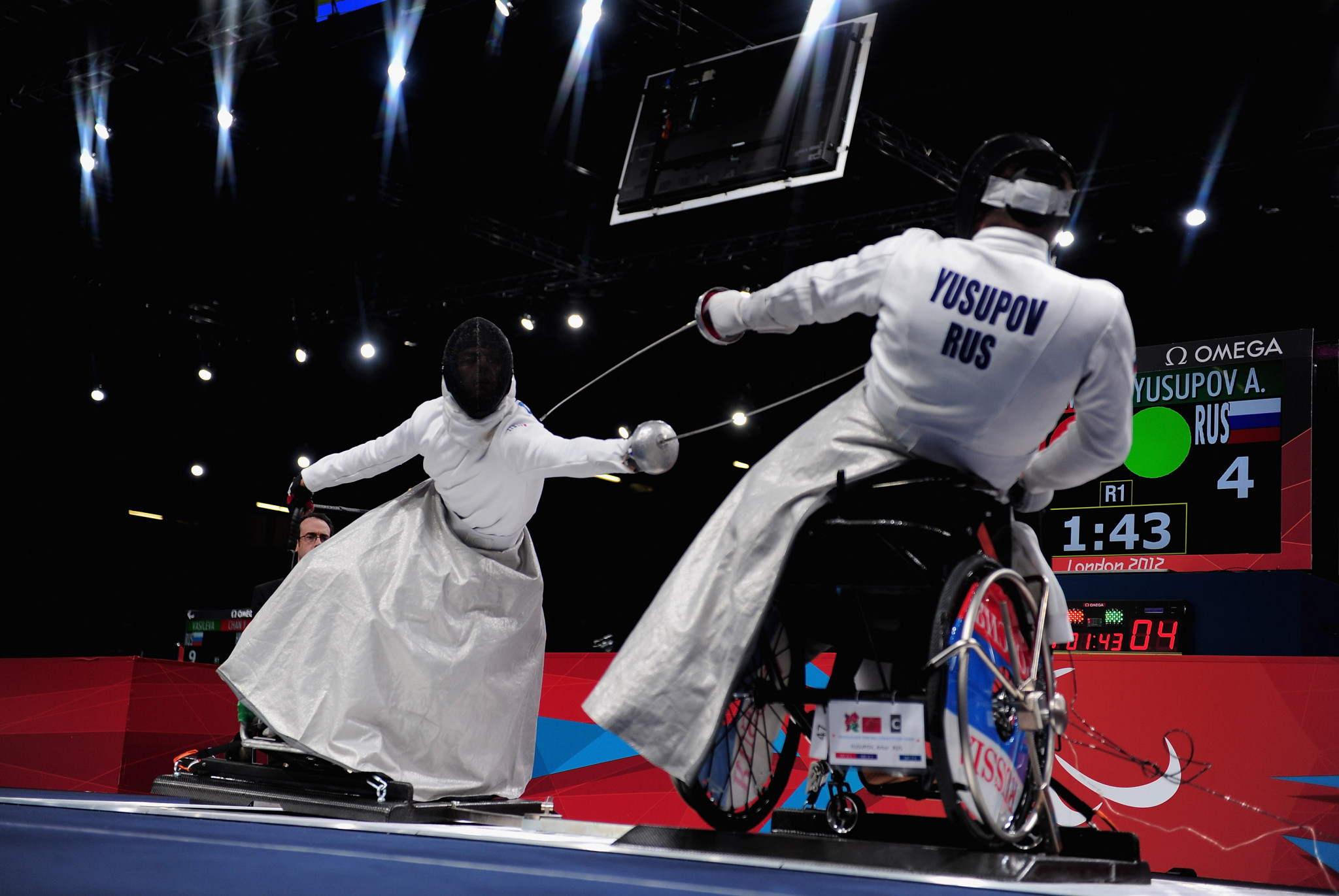 Russia win épée and foil team titles at IWAS Wheelchair Fencing World Cup