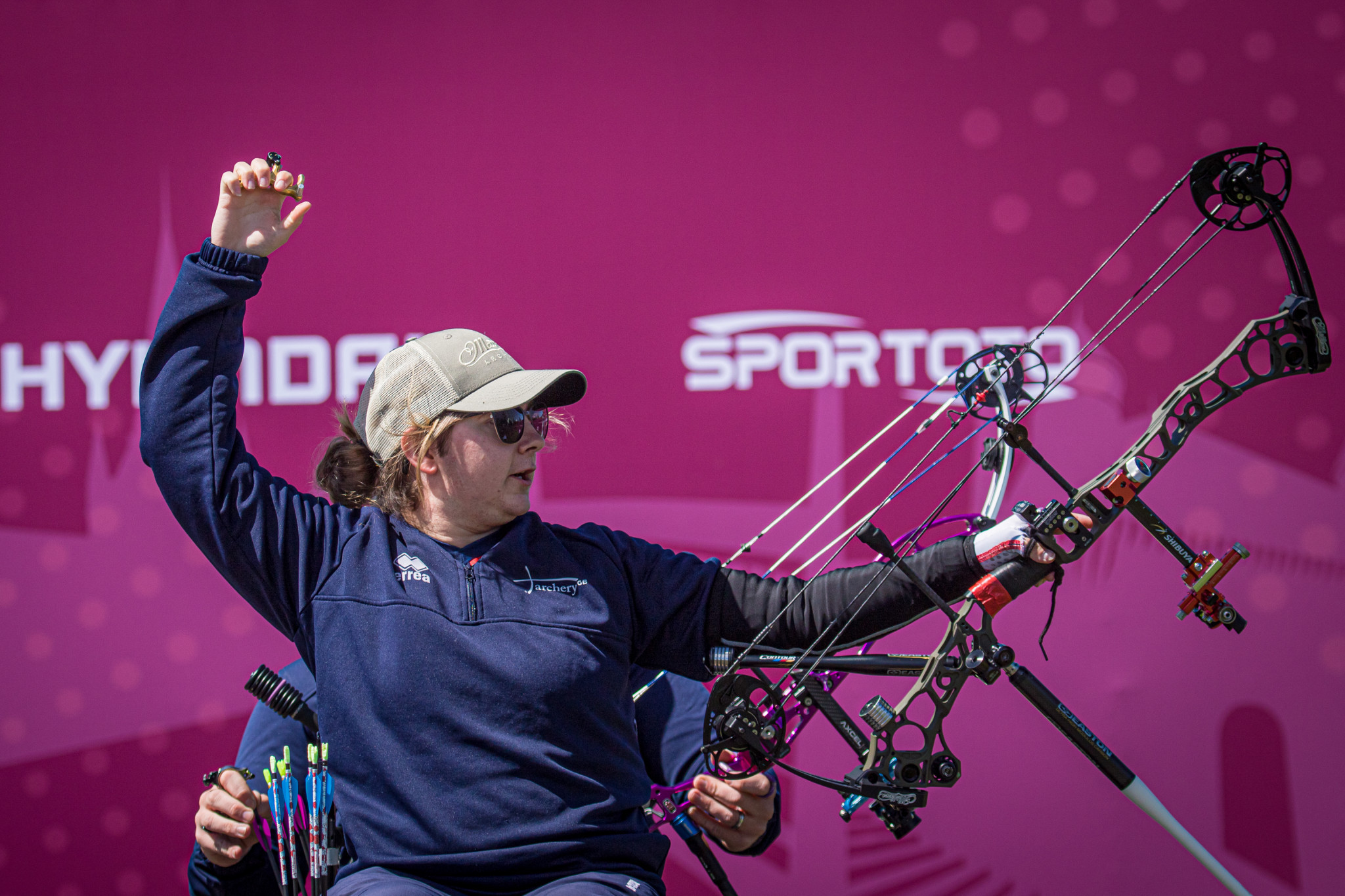 Rumary claims second gold on final day of Para-archery quota tournament for Tokyo 2020