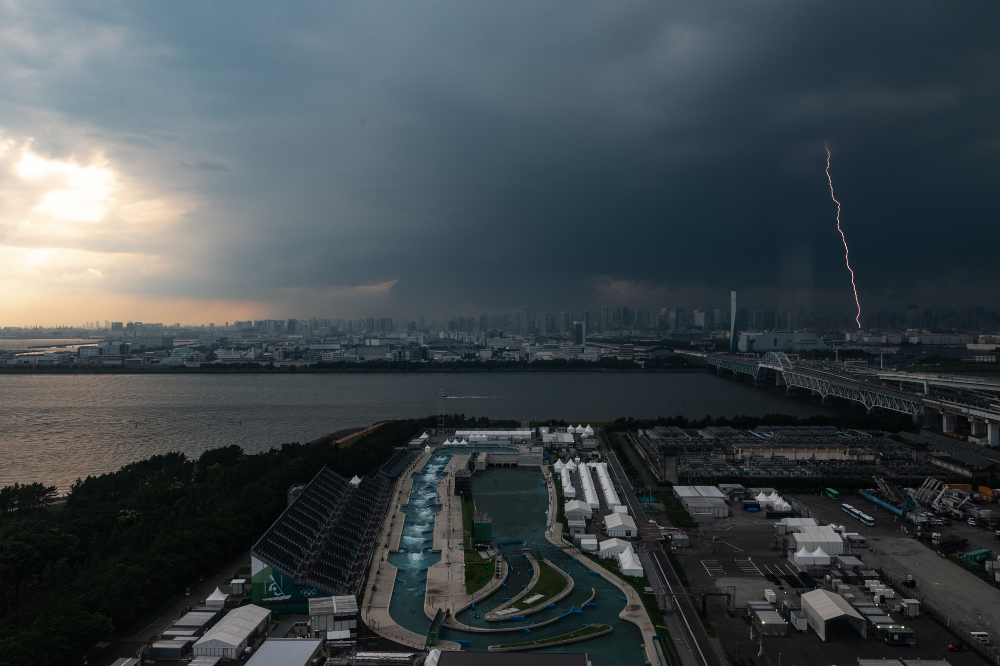 Tokyo 2020 competitions will be held behind closed doors due to the restrictions ©Getty Images