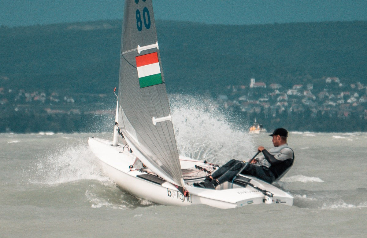 Hungary enjoy strong opening day at Under-23 Finn World Championship