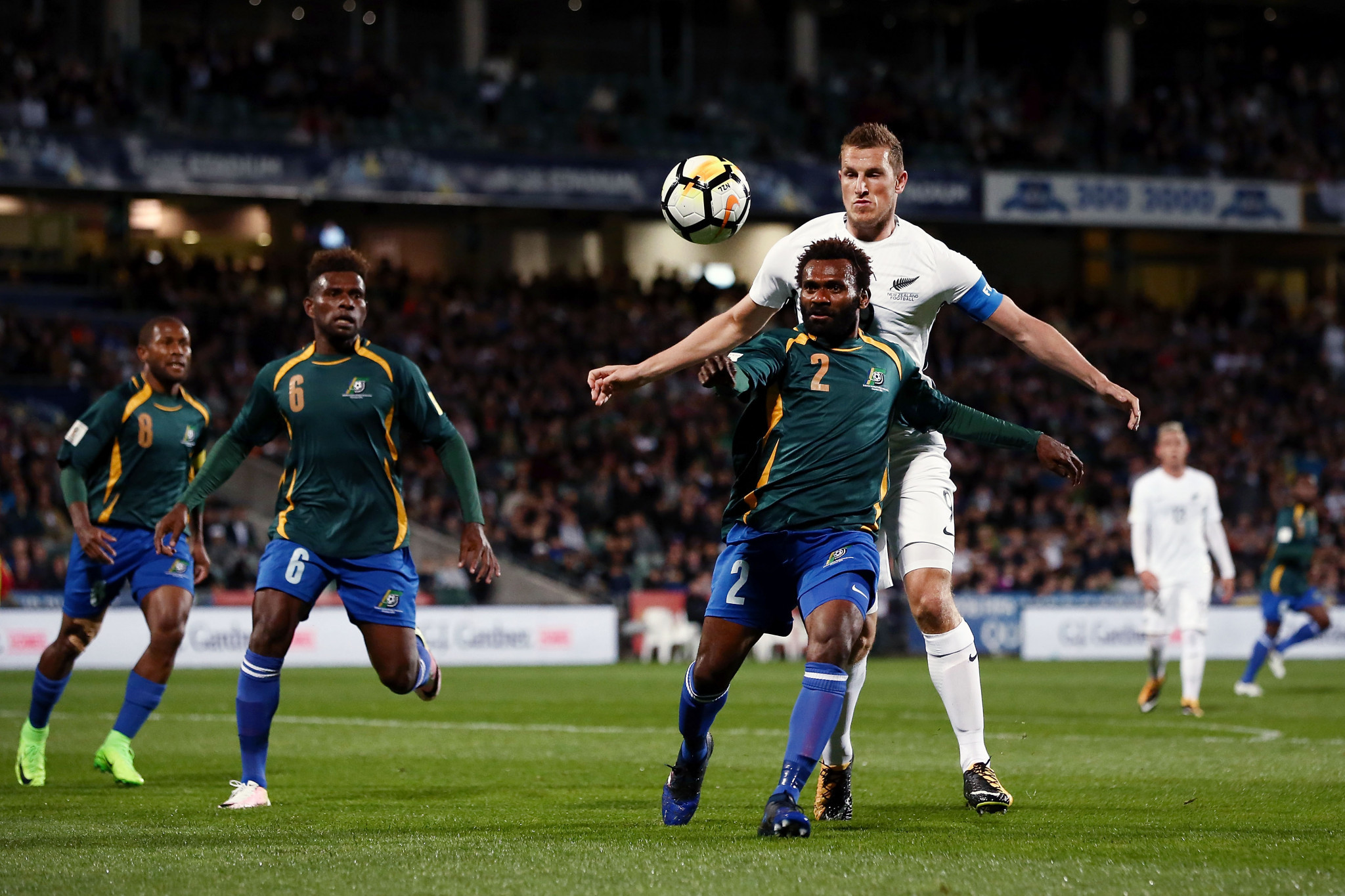 During his last spell in charge of the Solomon Islands in 2017, Felipe Vega-Arango guided them to a playoff for the 2018 FIFA World Cup, where they lost over two legs to New Zealand ©Getty Images