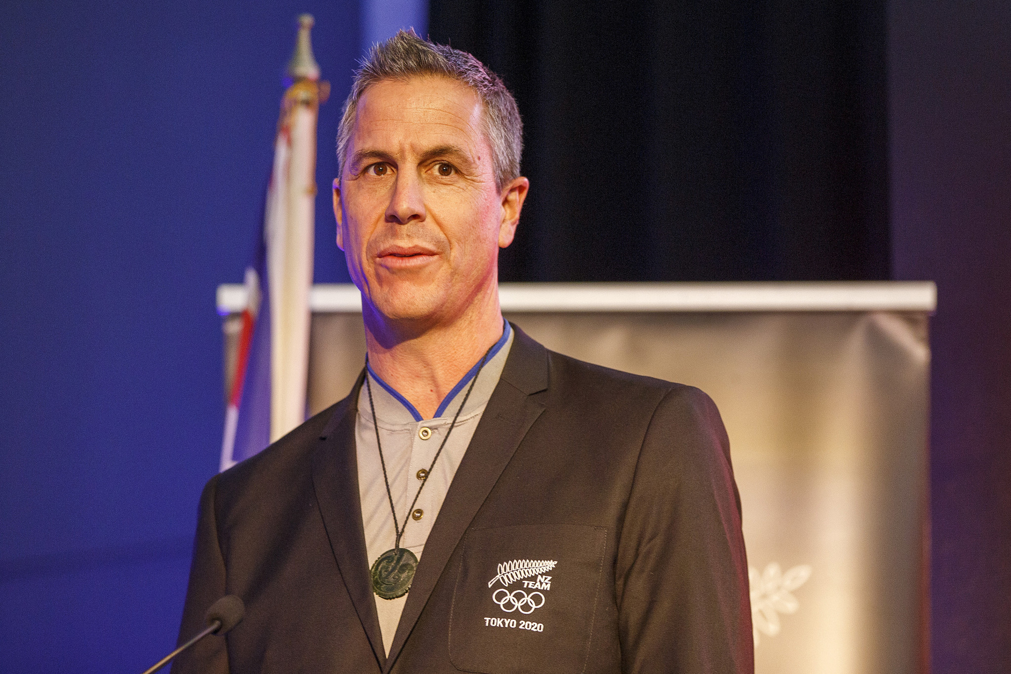 New Zealand's Chef de Mission Rob Waddell has praised the resilience of the Olympic team ©Getty Images