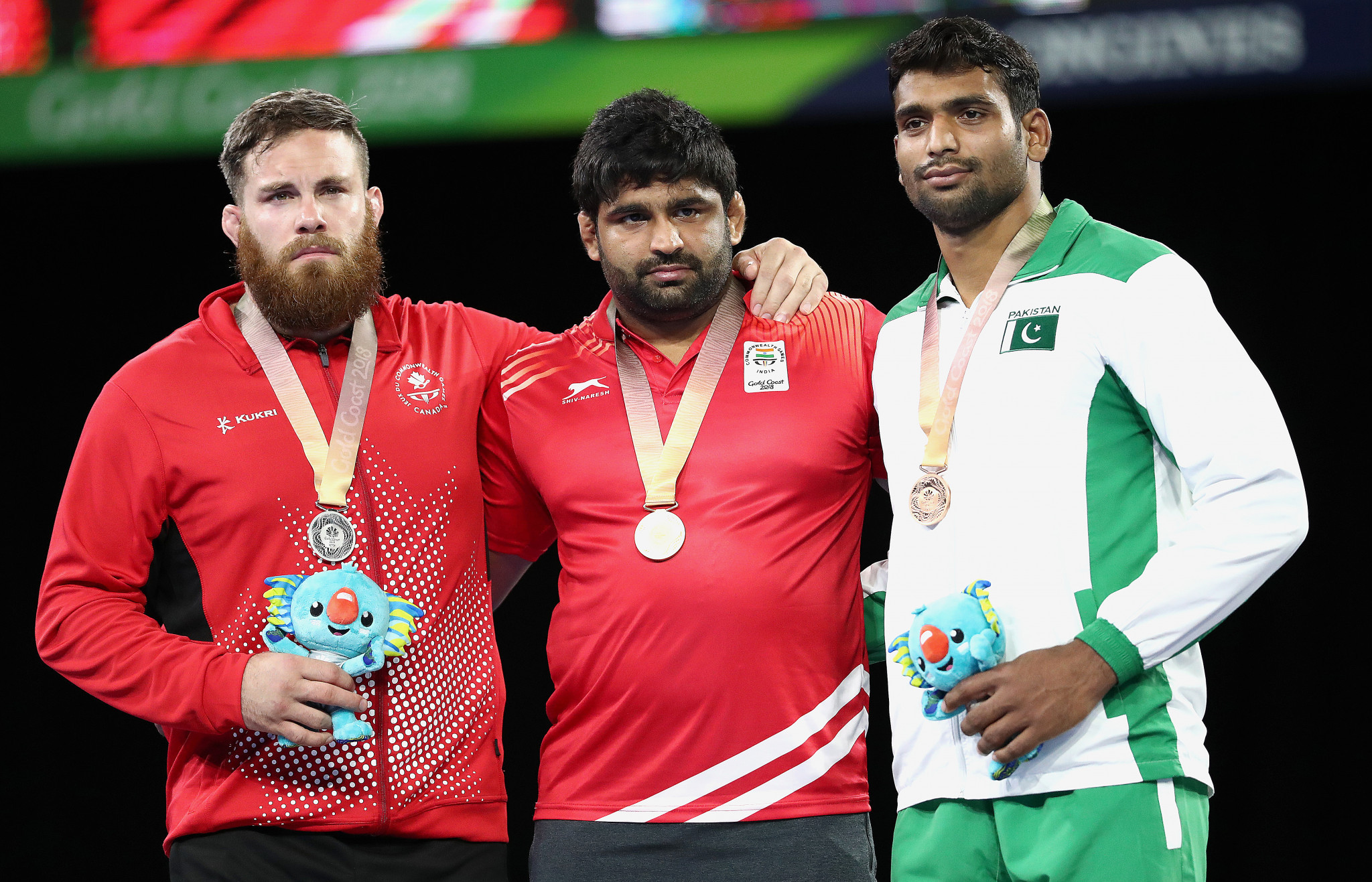 Sumit Malik won the Commonwealth Games gold medal in the 125kg category at Gold Coast 2018 ©Getty Images