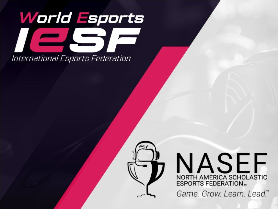 IESF partners with NASEF and names Solomon World Esports Education Commission chair