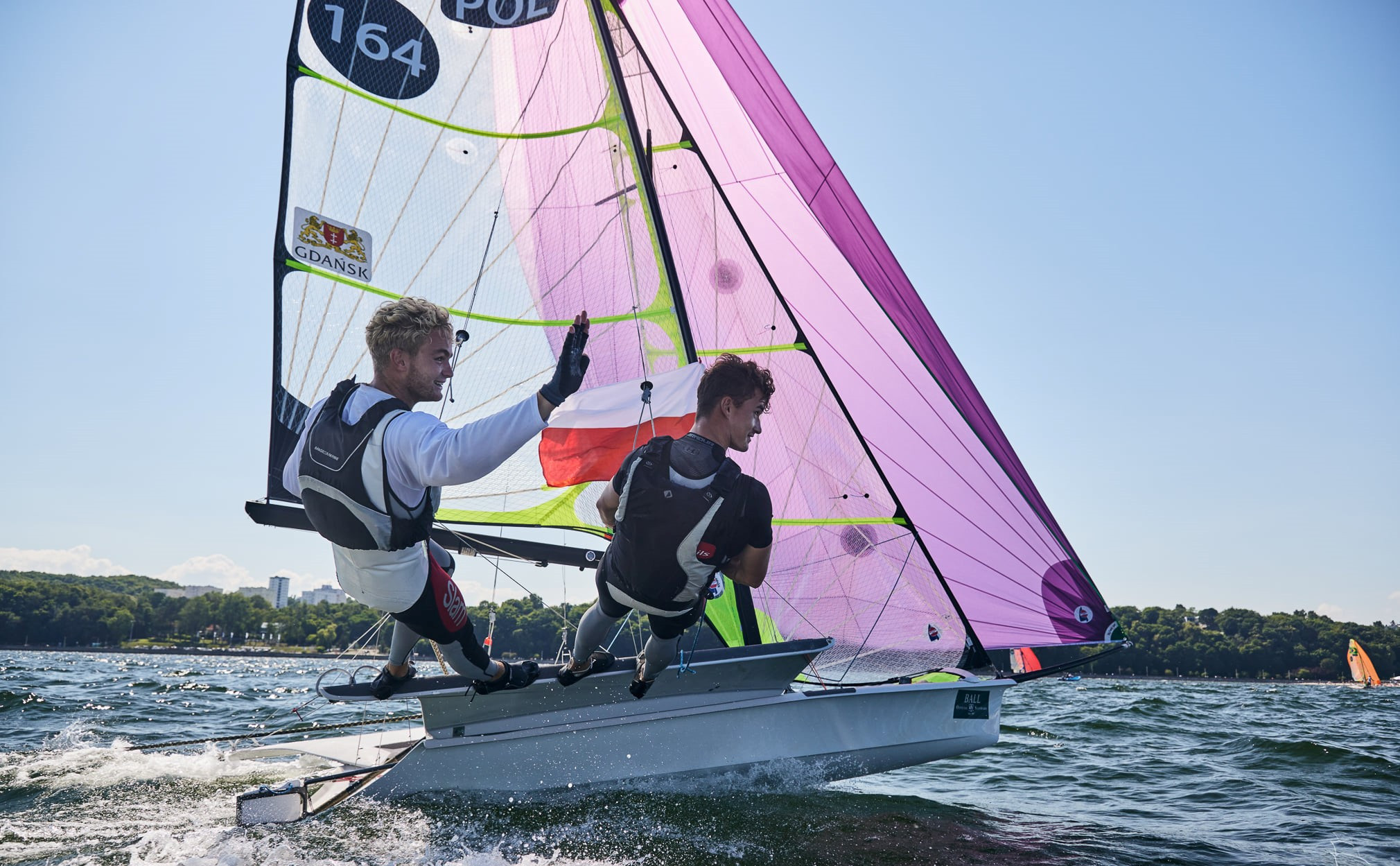 Home sailors triumph in 49er class at Junior World Championships in Gdynia