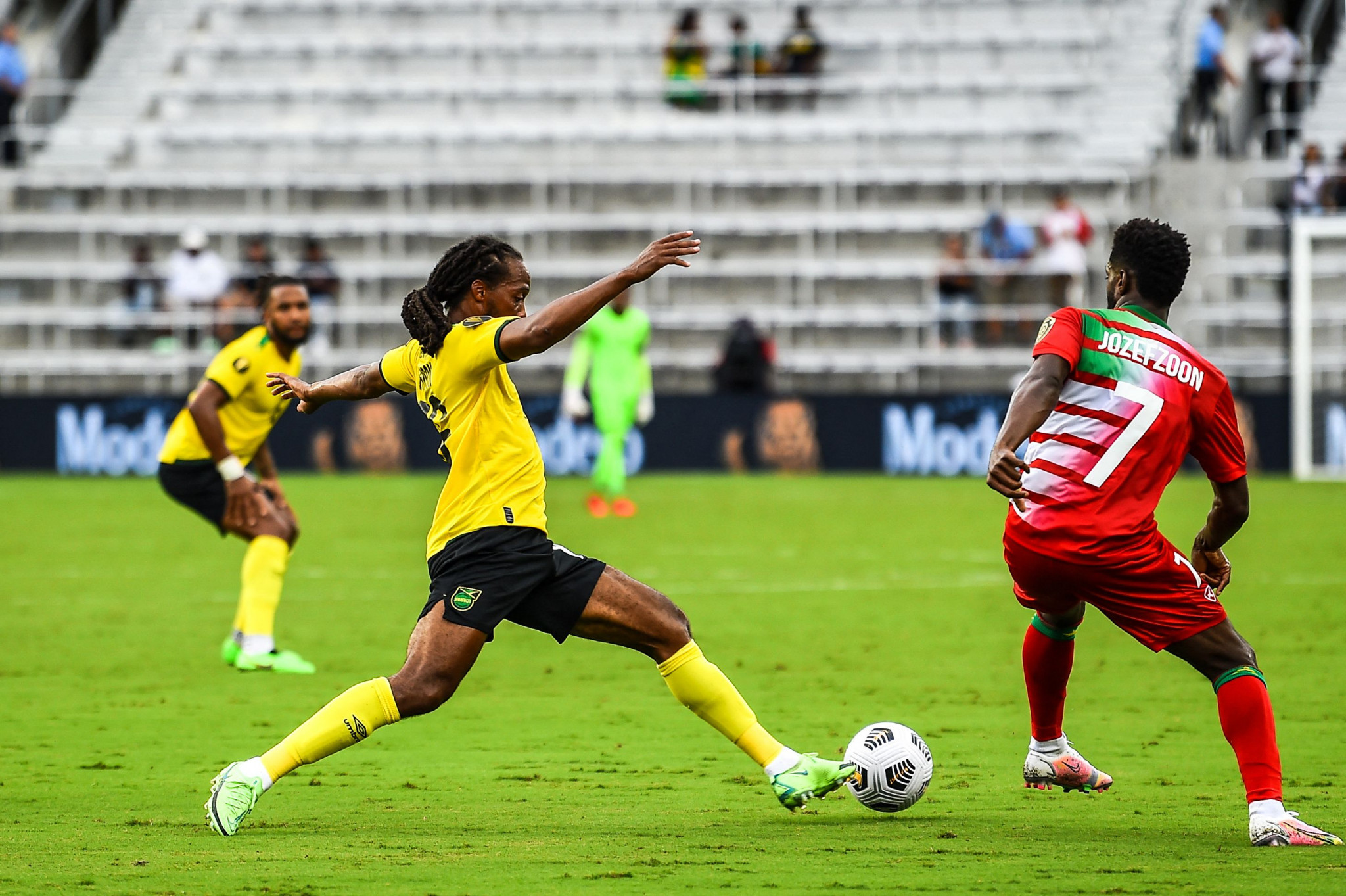 Jamaica beat tournament debutants Suriname in Gold Cup group stage