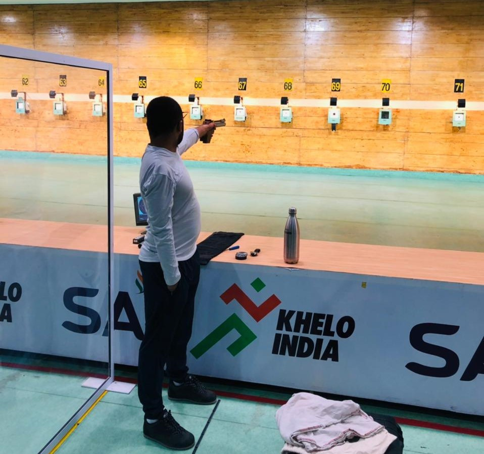 Indian Paralympic shooting coach hopeful of medal success at Tokyo 2020