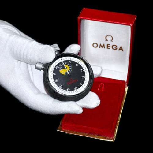 Stopwatch used by referee Jack Taylor in 1974 World Cup final fetches over £4,000 at auction