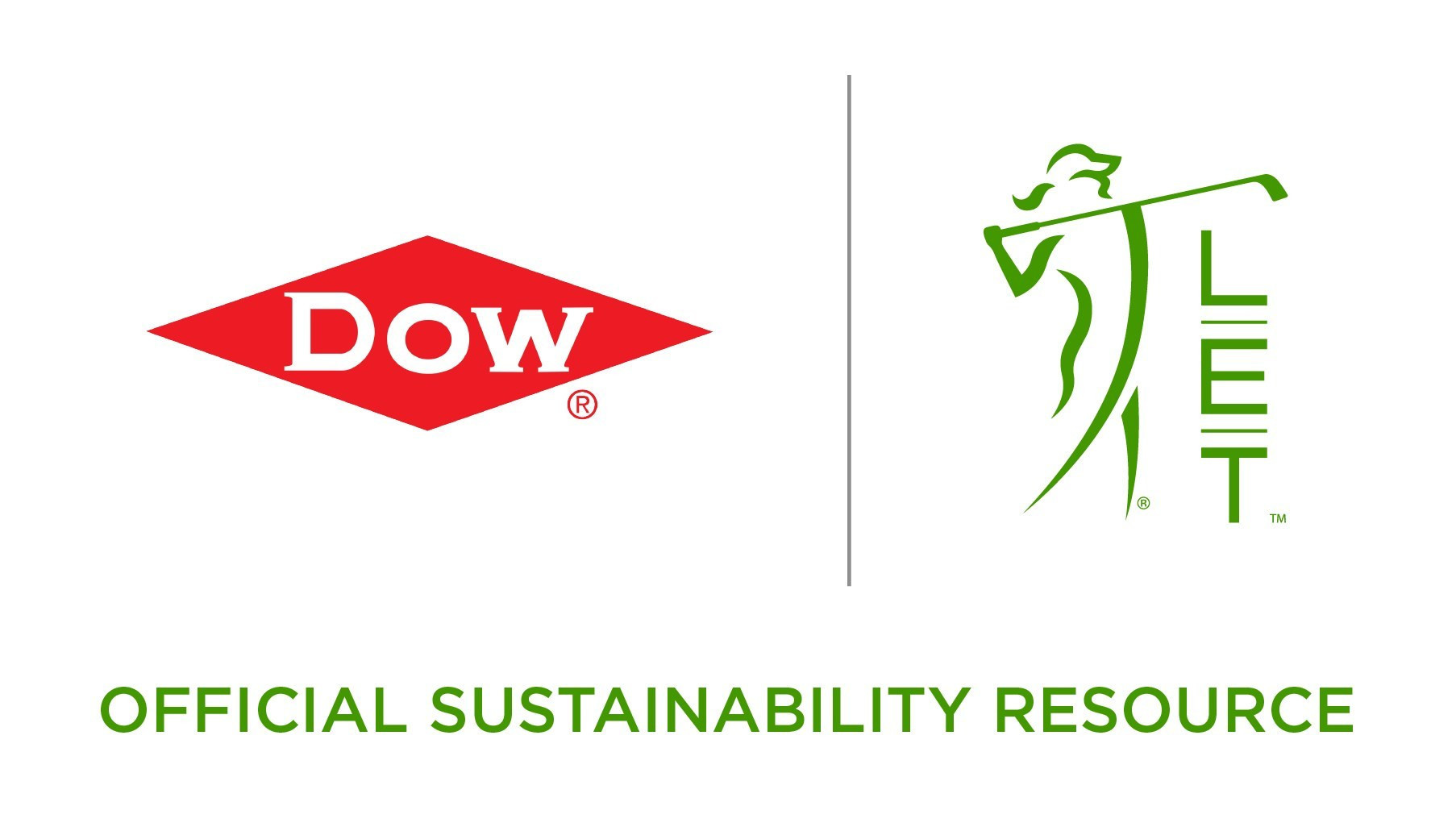 Dow will partner with LPGA and LET over the next four years as the official sustainability resource for the organisations ©Getty Images