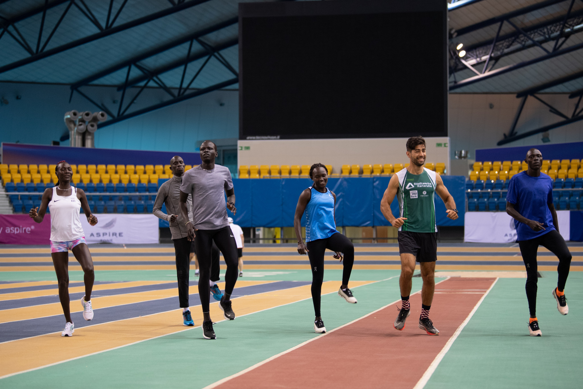 Refugee Olympic Team completes training camp in Qatar