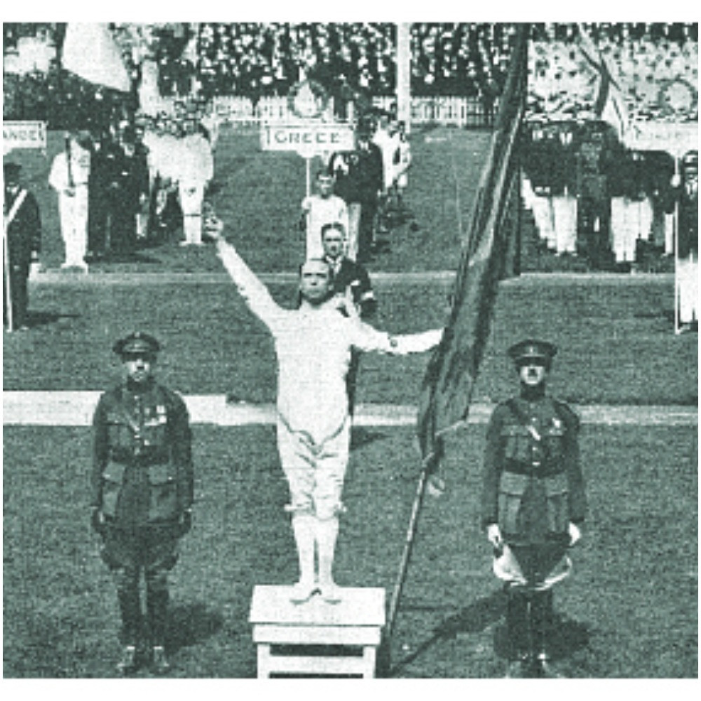 The Olympic oath was introduced at Antwerp 1920 when it was read by fencer Victor Boin ©Getty Images