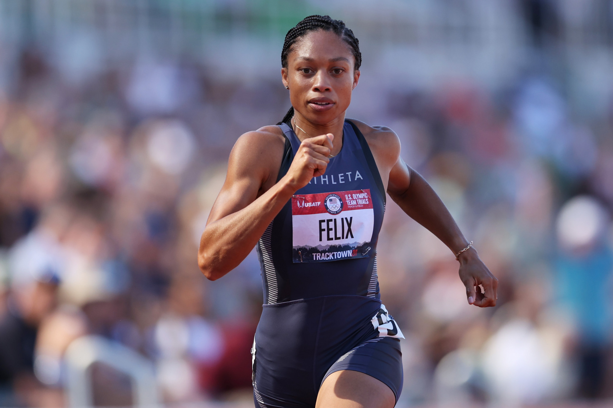 Six-time Olympic gold medallist Allyson Felix will compete at her fifth Games ©Getty Images