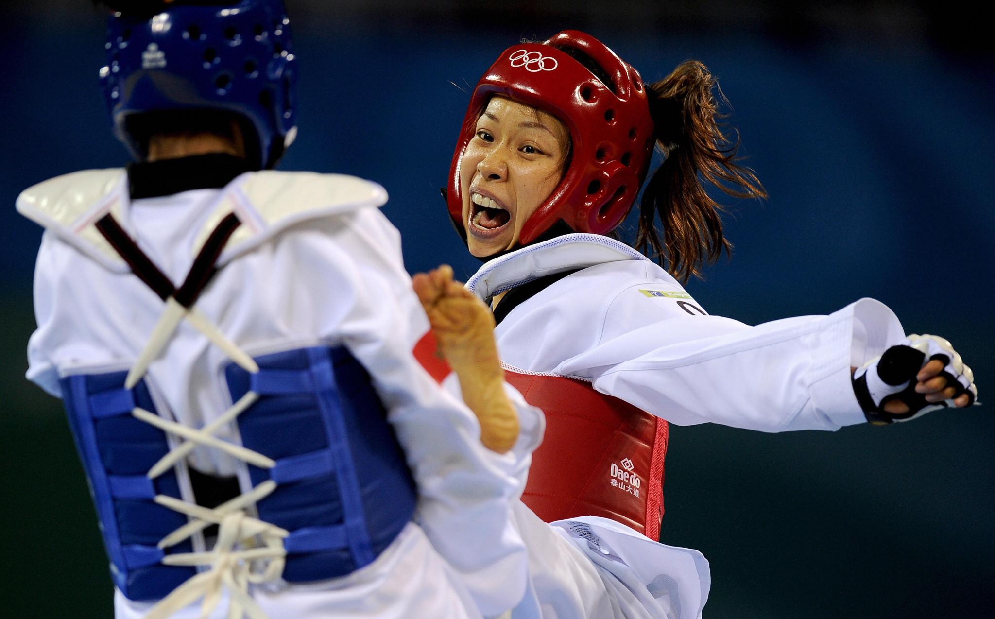 Shoko Ota switched to taekwondo from skiing after meeting Olympic bronze medallist Yoriko Okamoto ©Getty Images