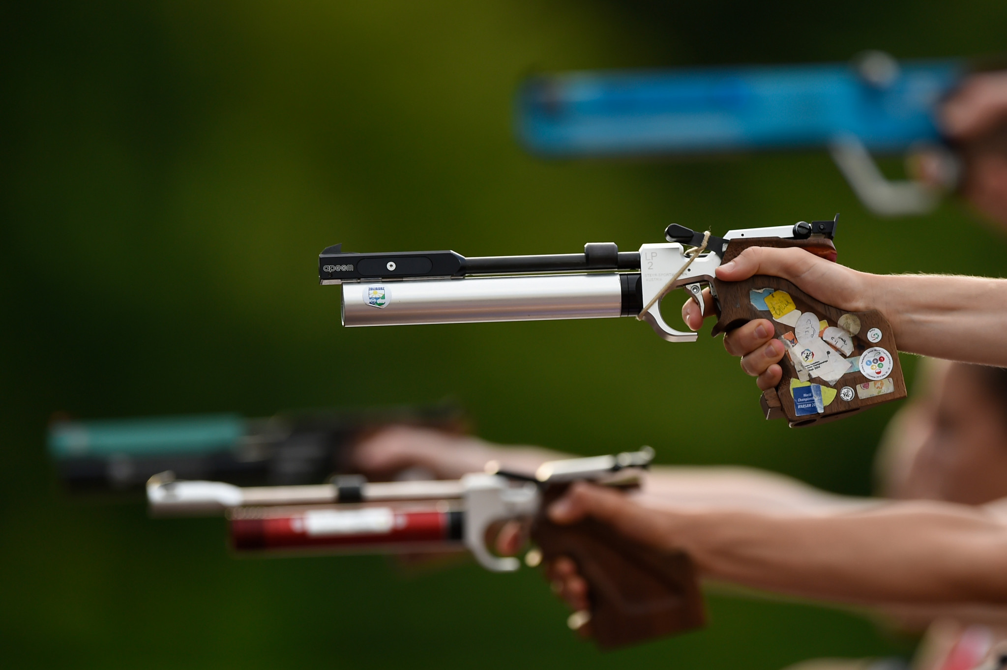 Egloff leads women's qualifying at UIPM Junior World Championships