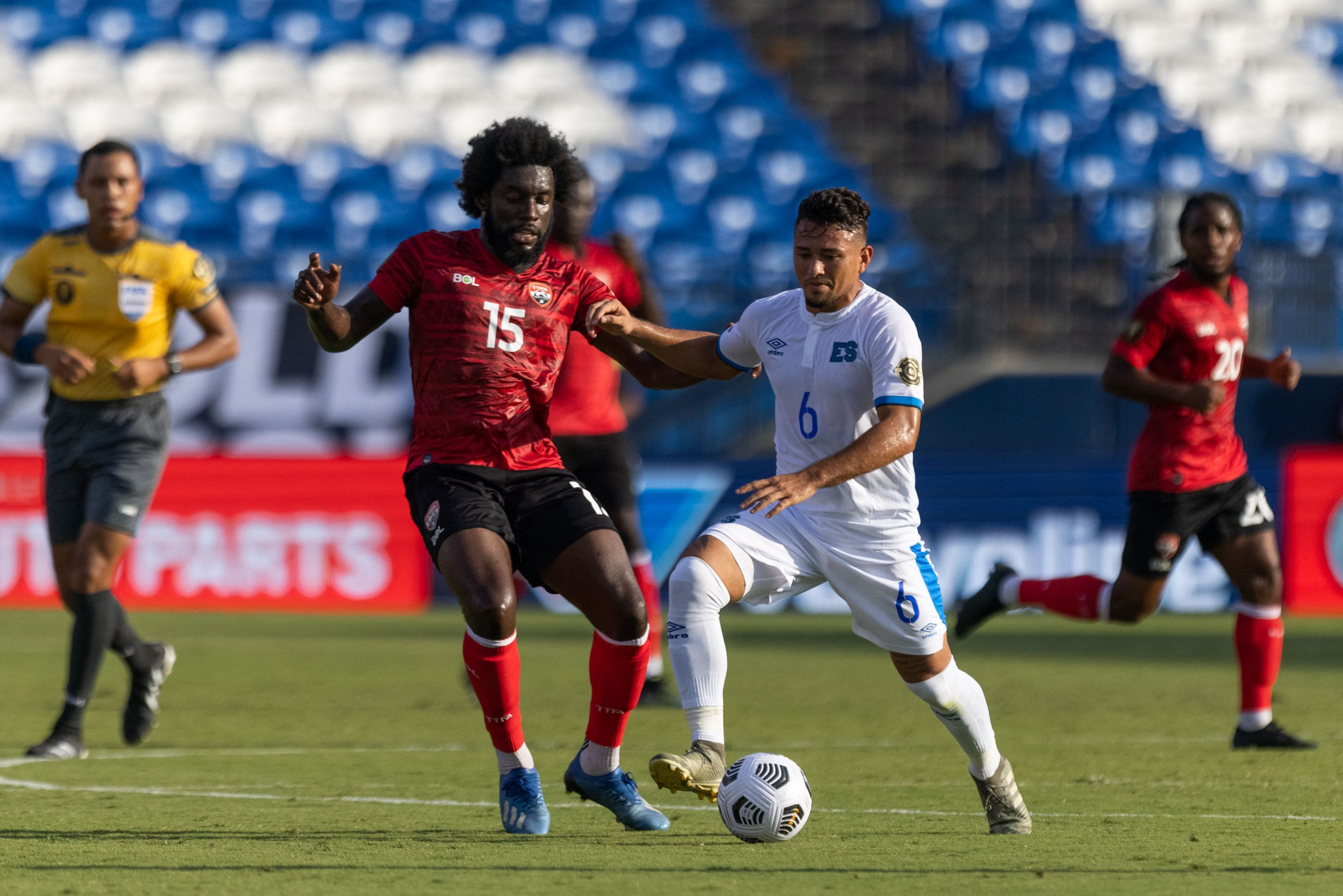 El Salvador clinch place in Gold Cup knockout stage by beating Trinidad and Tobago