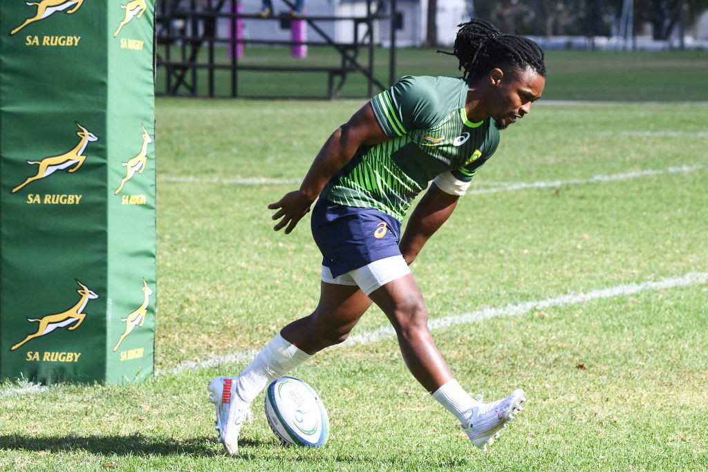 Someone on the South African rugby sevens team's flight tested positive for COVID-19, forcing the squad to be sent to a quarantine hotel ©Getty Images