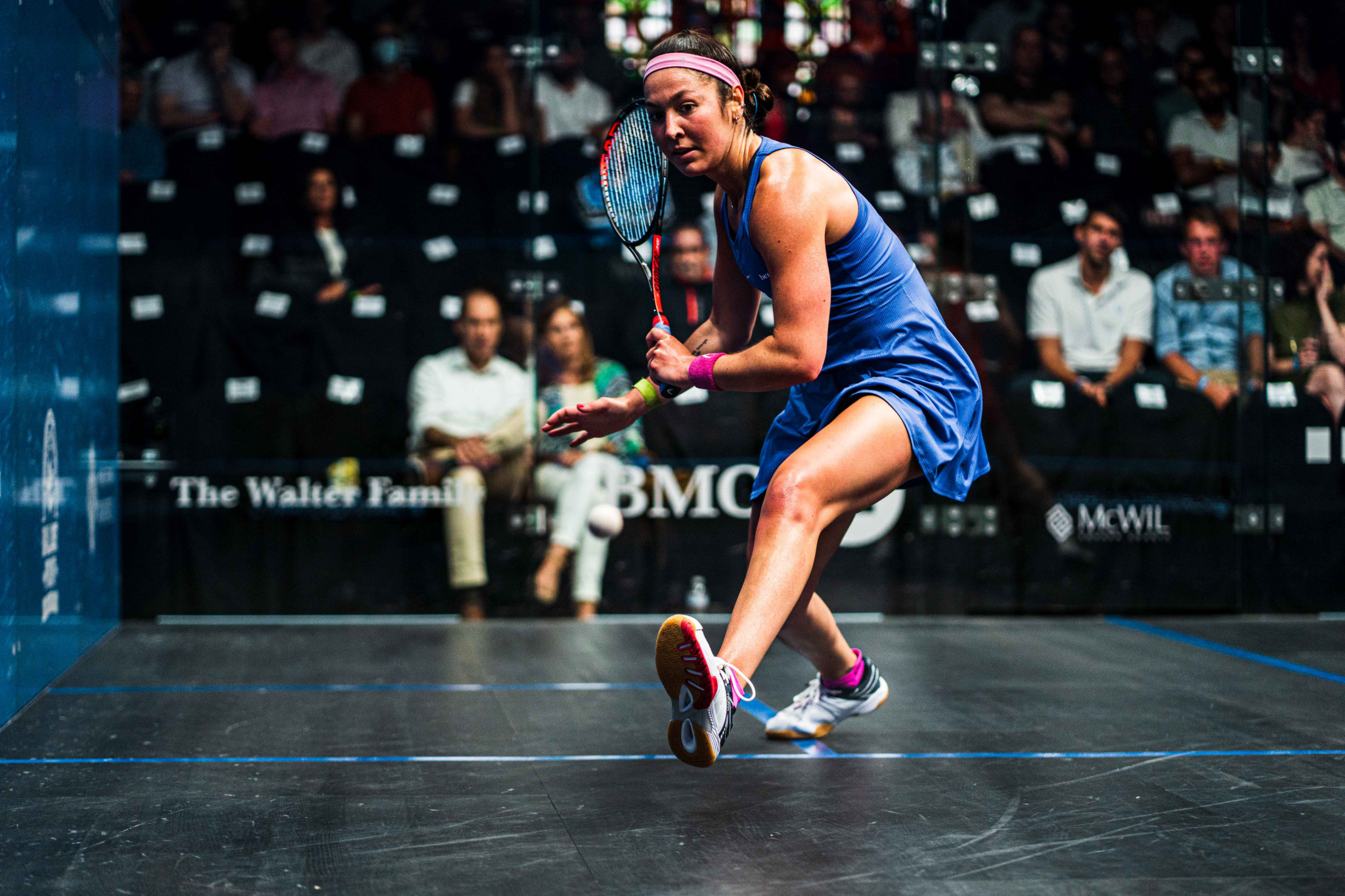 Amanda Sobhy is a big home hope for the United States in Chicago ©PSA