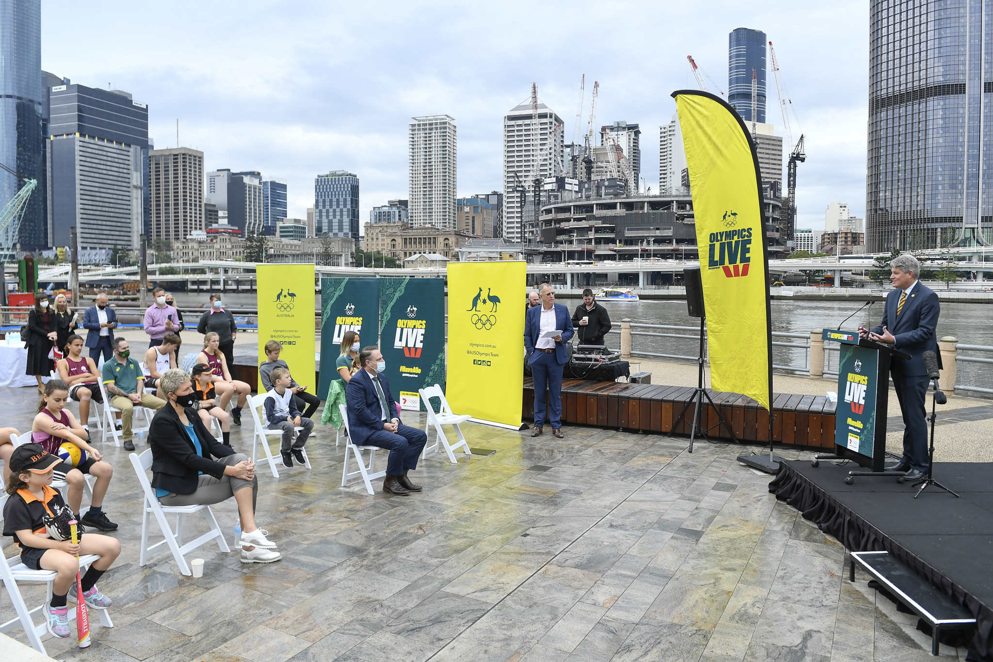 Brisbane to hold live site as city prepares to be named 2032 Olympic Games host