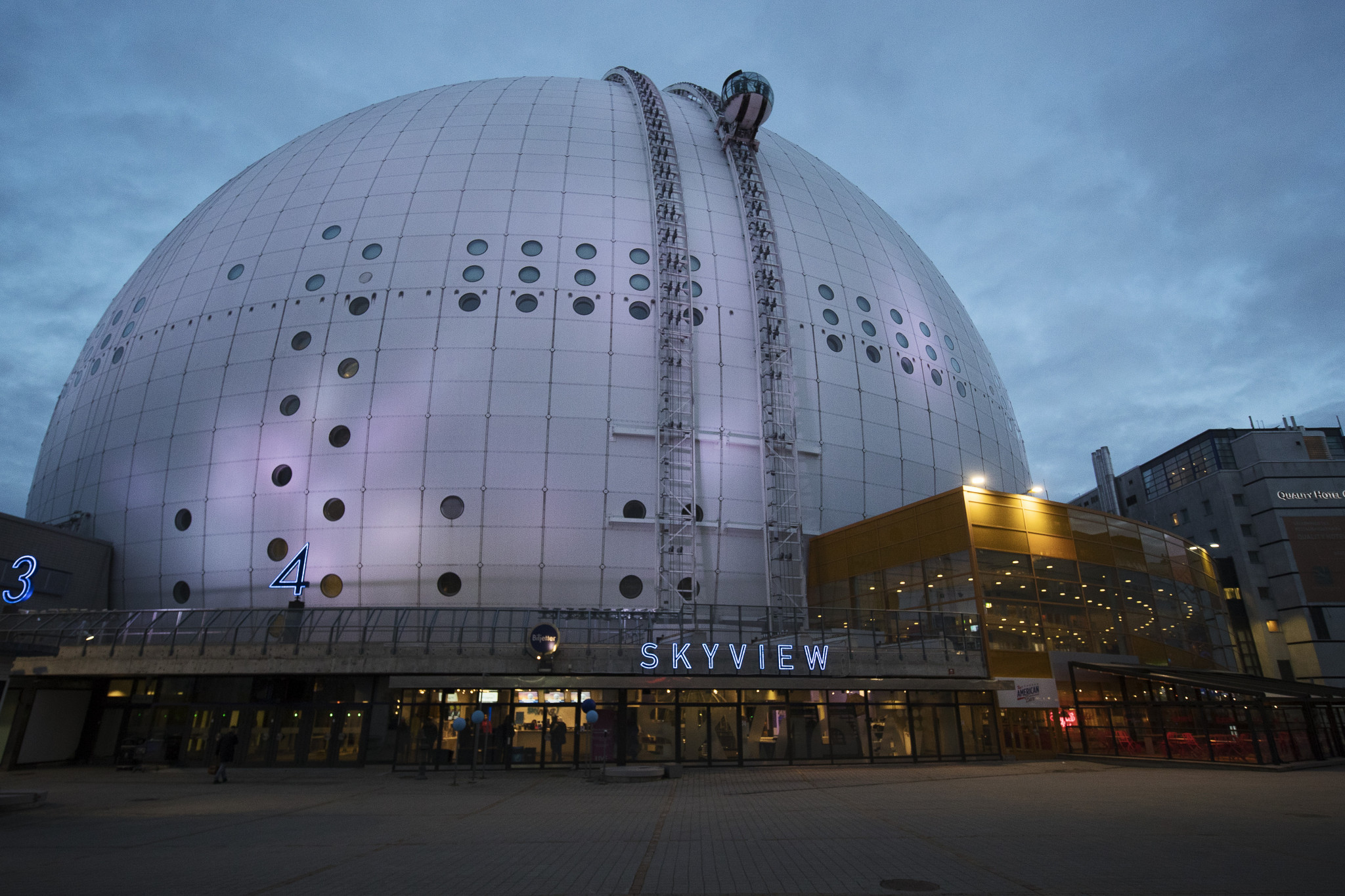 The Avicii Arena, opened in 1989, is the world's largest spherical building ©Getty Images