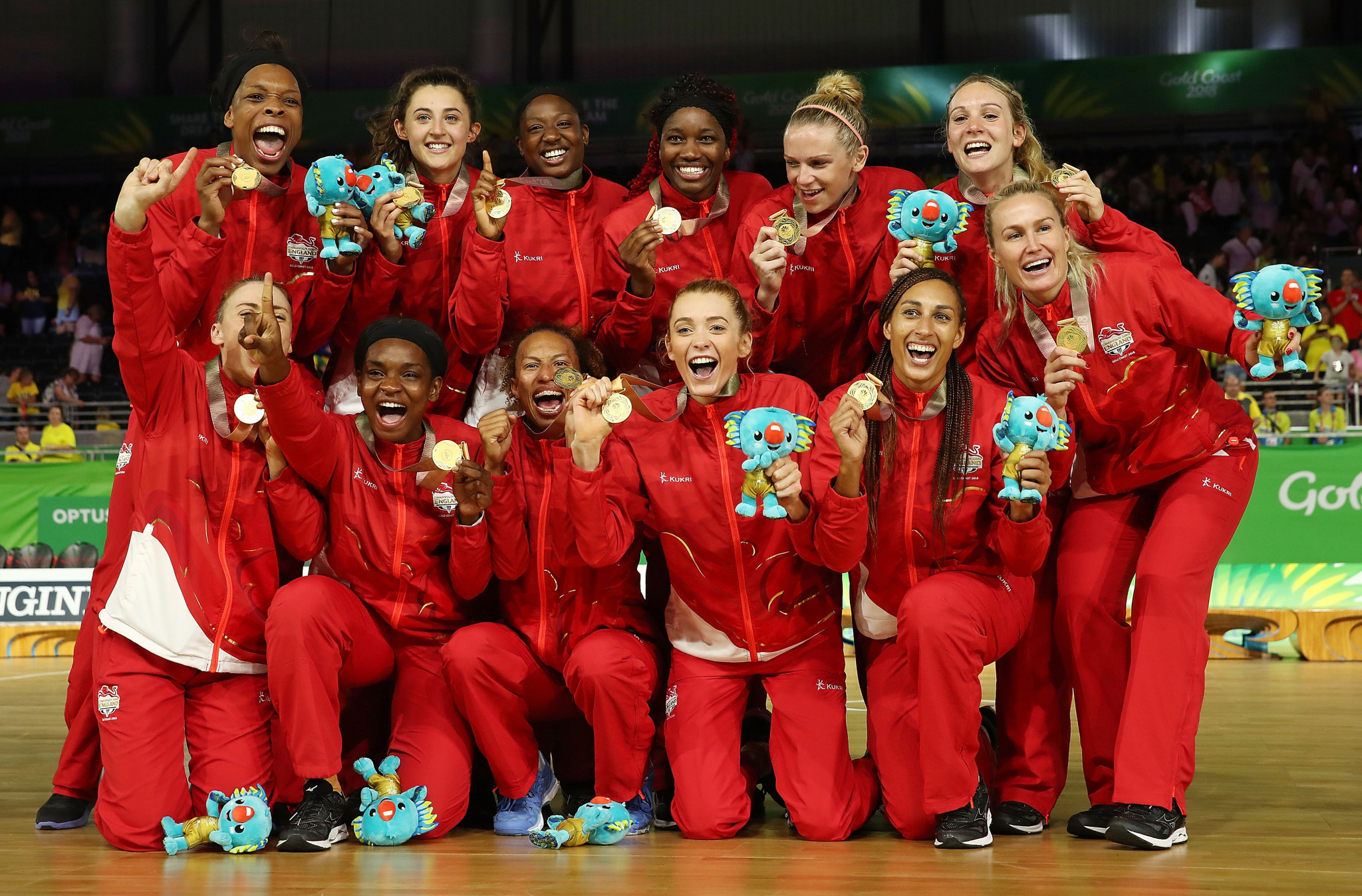 England won the Commonwealth Games gold medal at Gold Coast 2018 and will be defending their title at Birmingham 2022 ©Getty Images