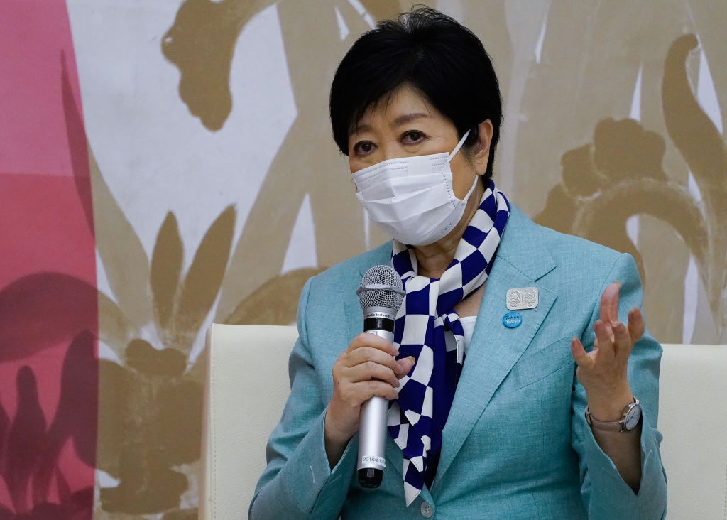 Tokyo Governor Yuriko Koike said she was hopeful the COVID-19 rules would be followed during the Games ©Getty Images
