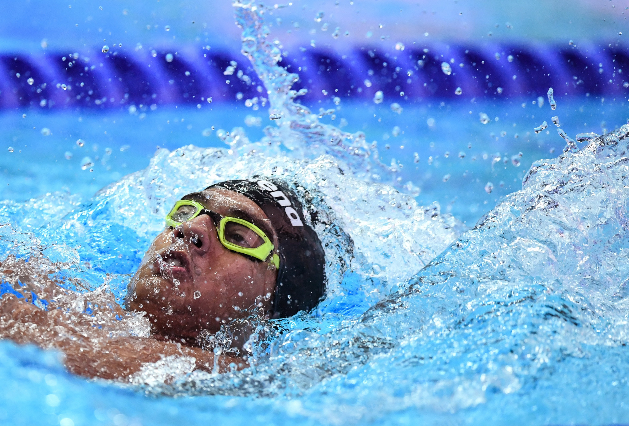 Srihari Nataraj has also qualified for the Tokyo 2020 Olympics ©Getty Images