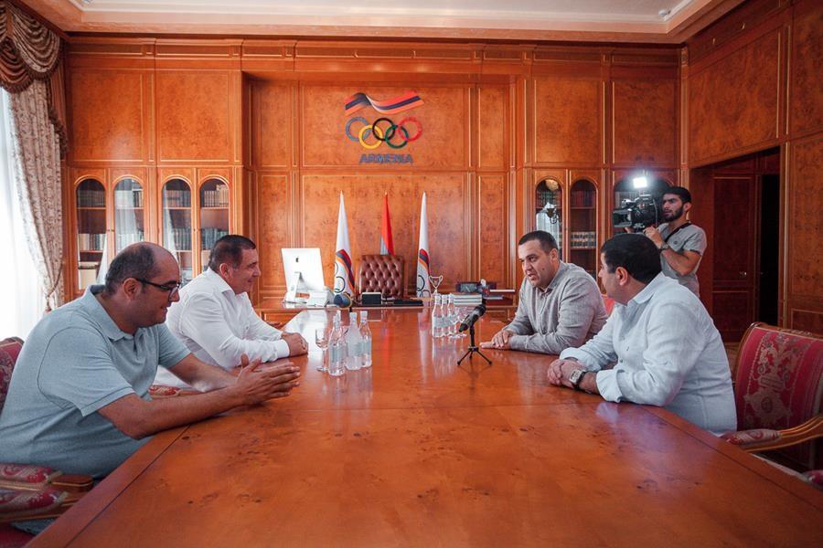 AIBA President Umar Kremlev has also visited Armenia ©AIBA