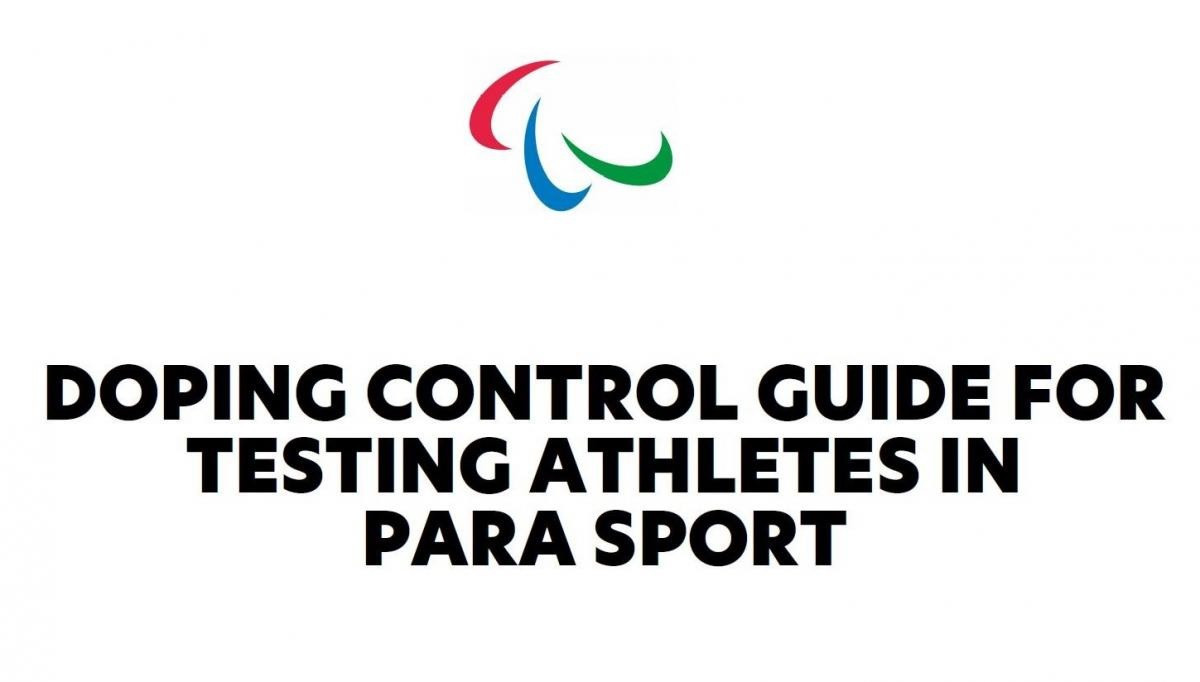 """IPC releases doping control guide for Tokyo 2020 to """"dispel misconceptions"""" over testing"""