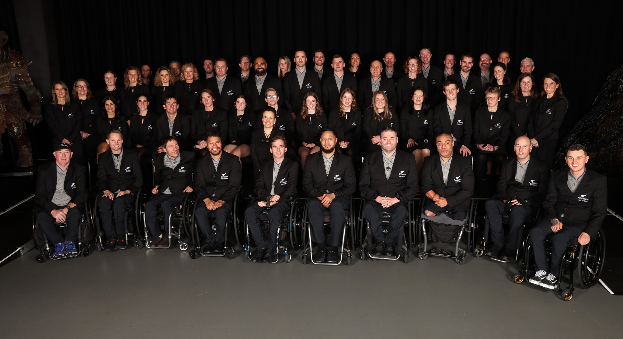 New Zealand's Paralympic team unveiled and given special send-off for Tokyo 2020