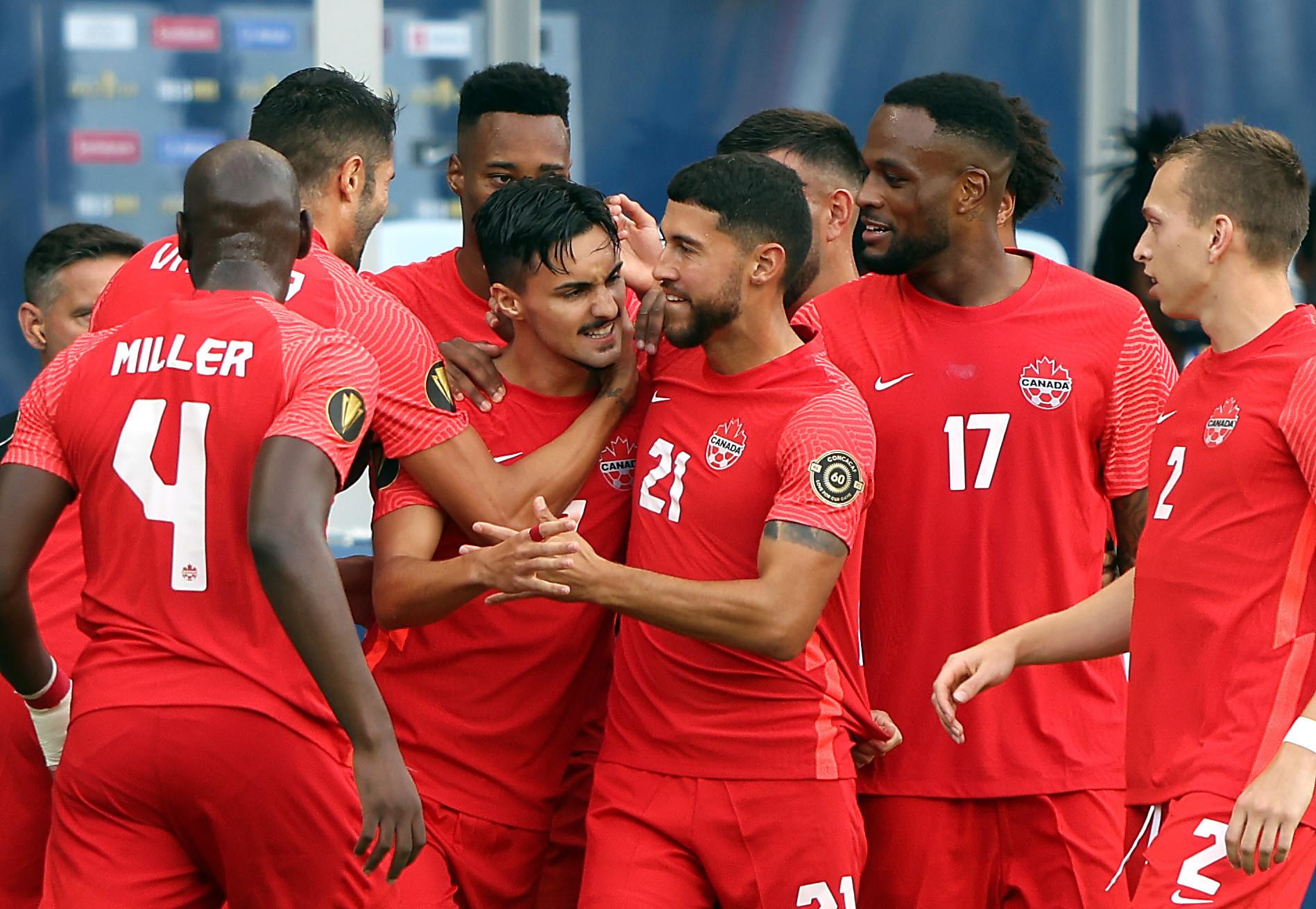 Canada were 4-1 winners against Haiti ©Getty Images