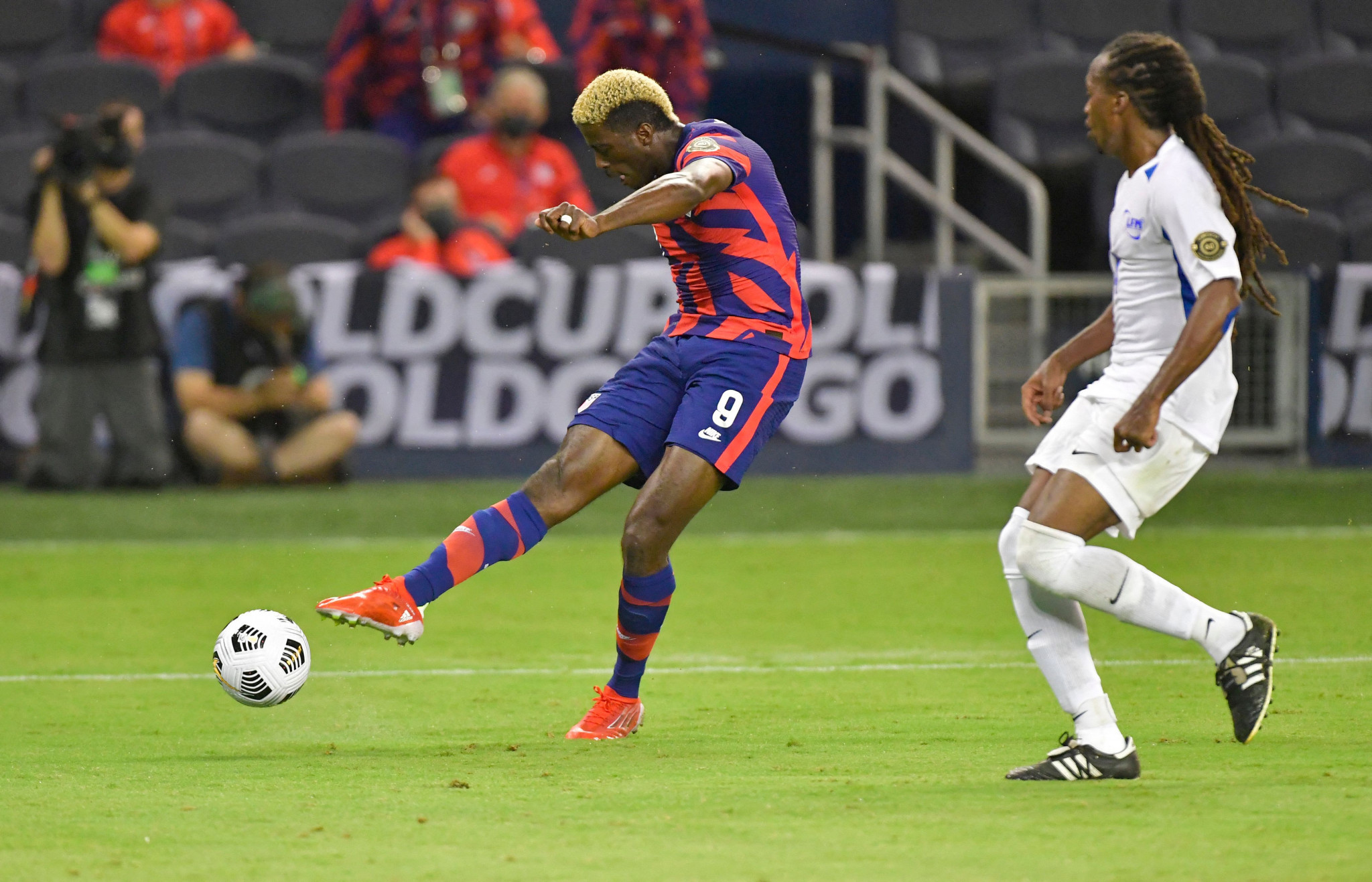 Gyasi Zardes was among the scorers in the United States 6-1 win over Martinique ©Getty Images
