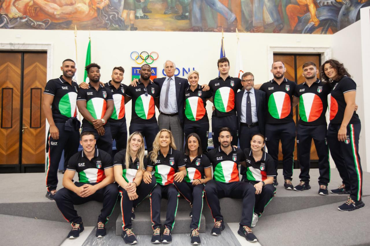 Italian karate team for Tokyo 2020 revealed at CONI reception