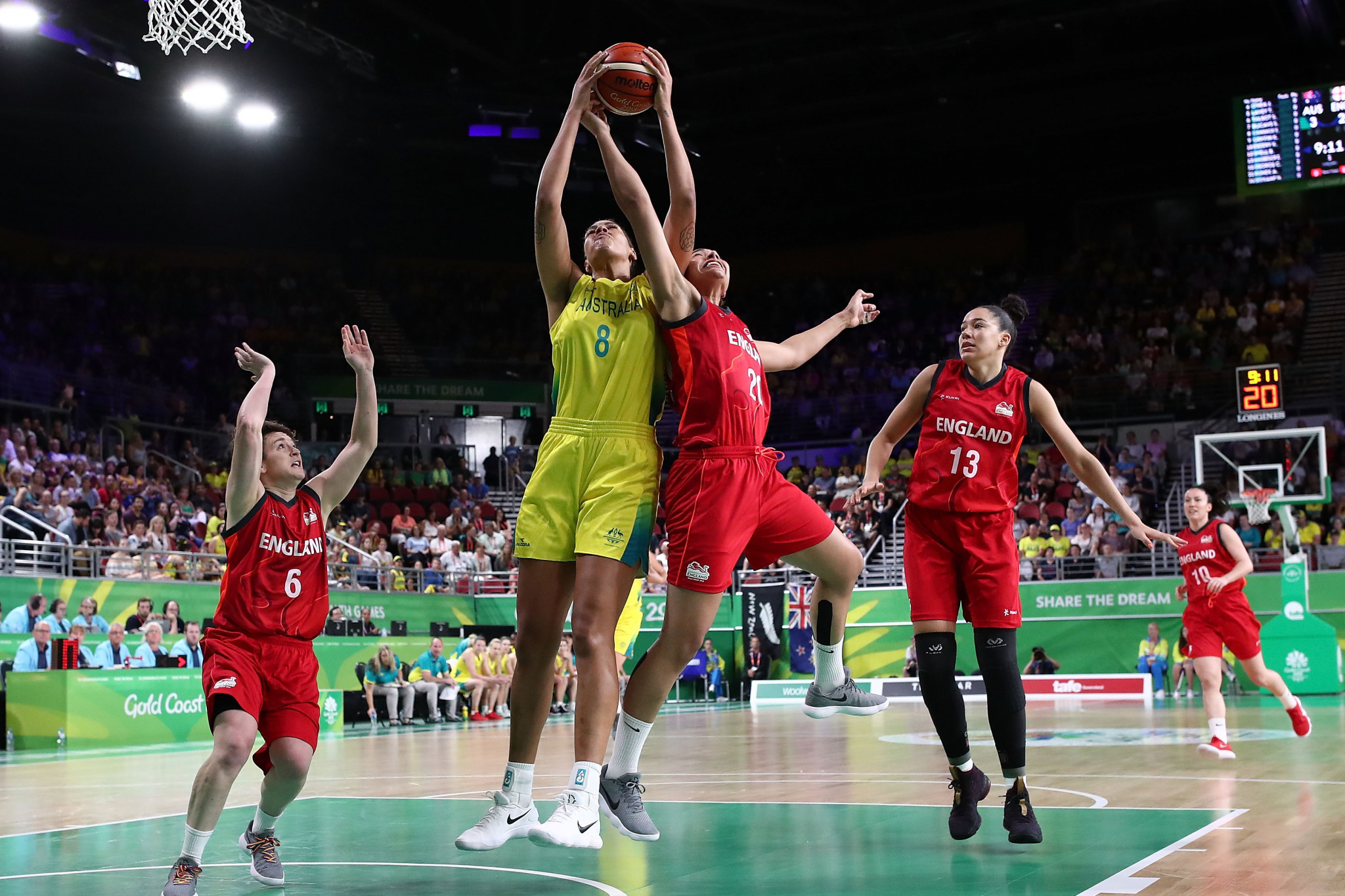 Liz Cambage's decision to pull out of Tokyo 2020 is a big blow to Australia's medal hopes ©Getty Images